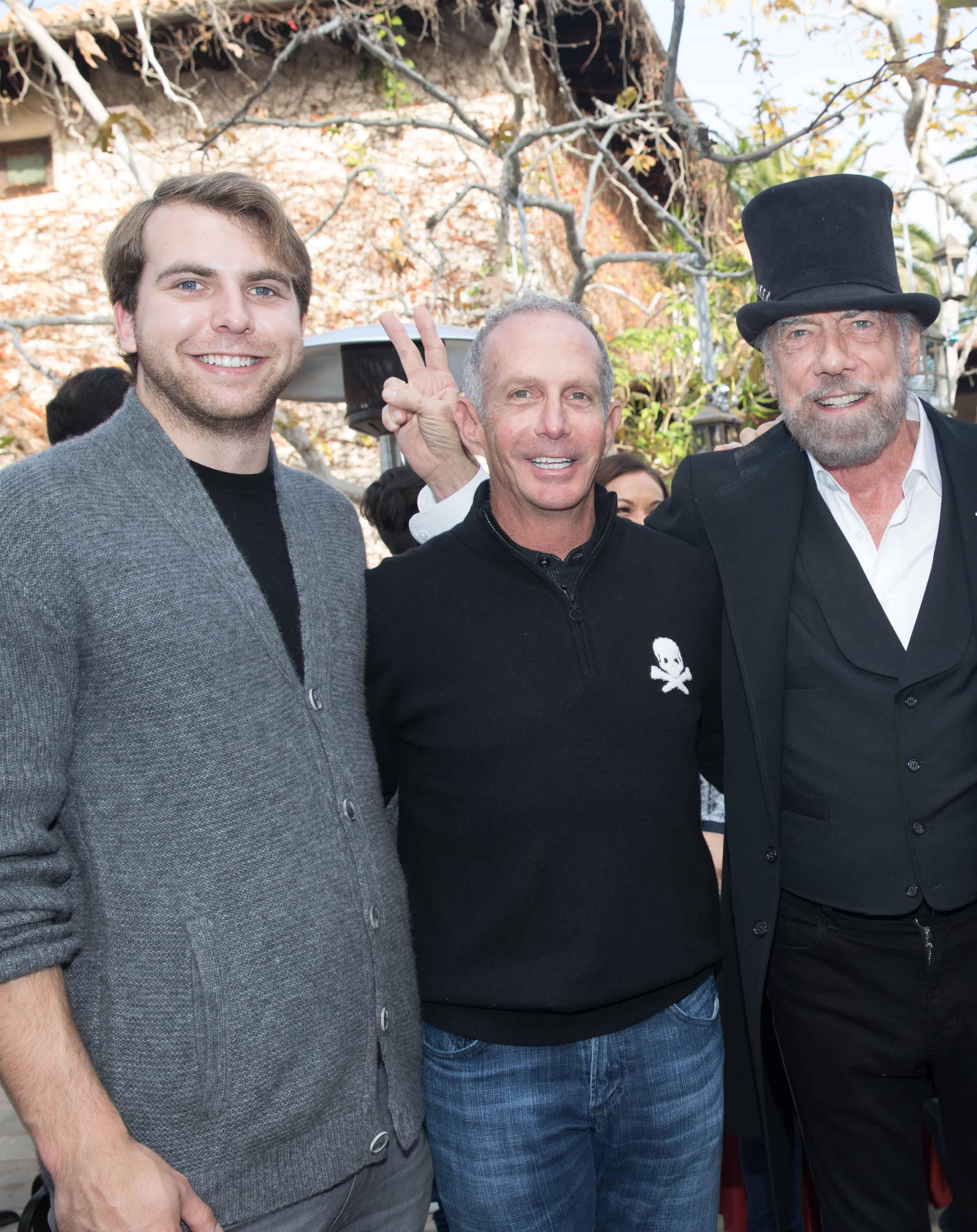 John Anthony DeJoria, Ed Brown and John Paul DeJoria