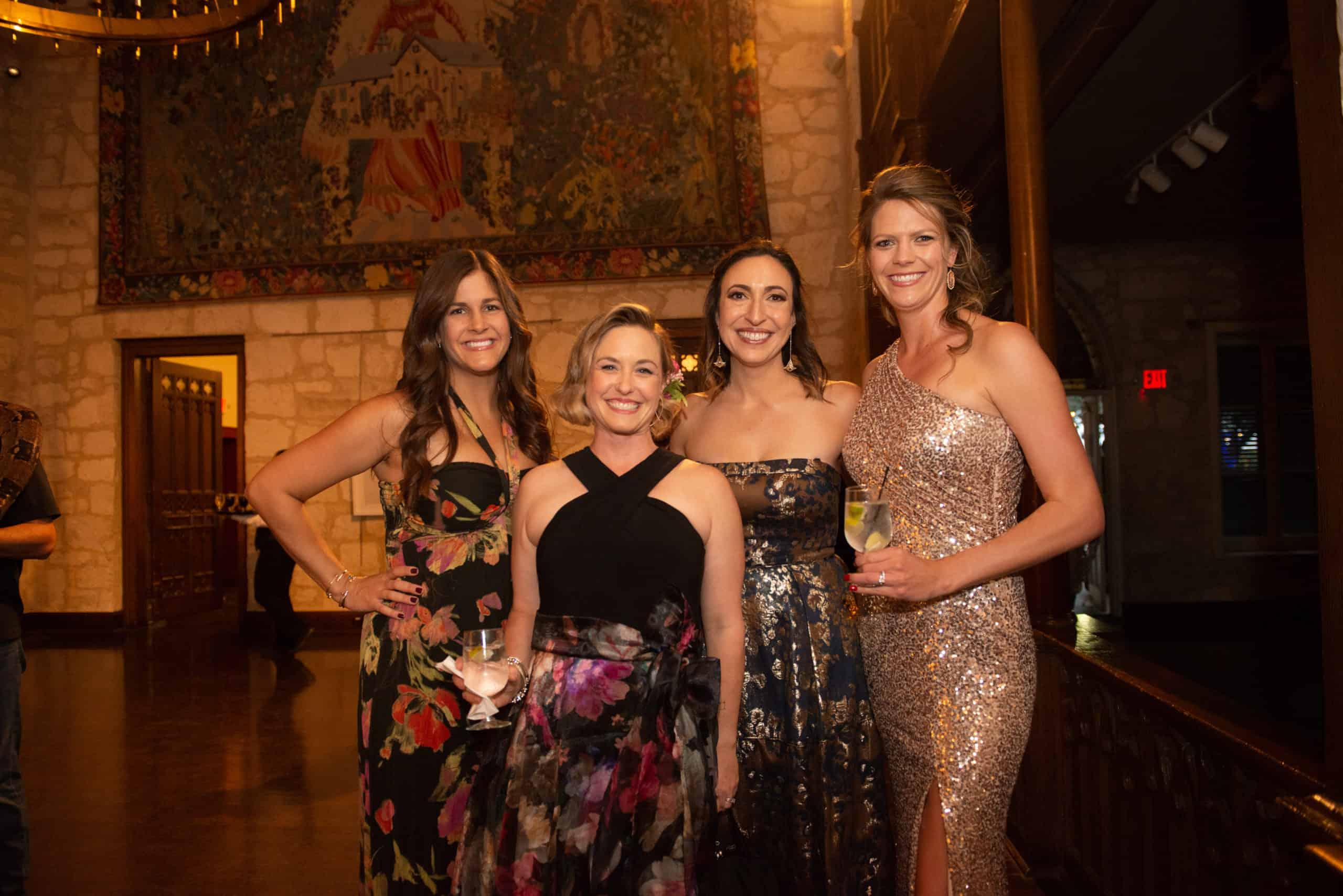 Krissy Gorsuch, Jessica Mewborne, Dr. Emily Marx and Bridgette Harkins