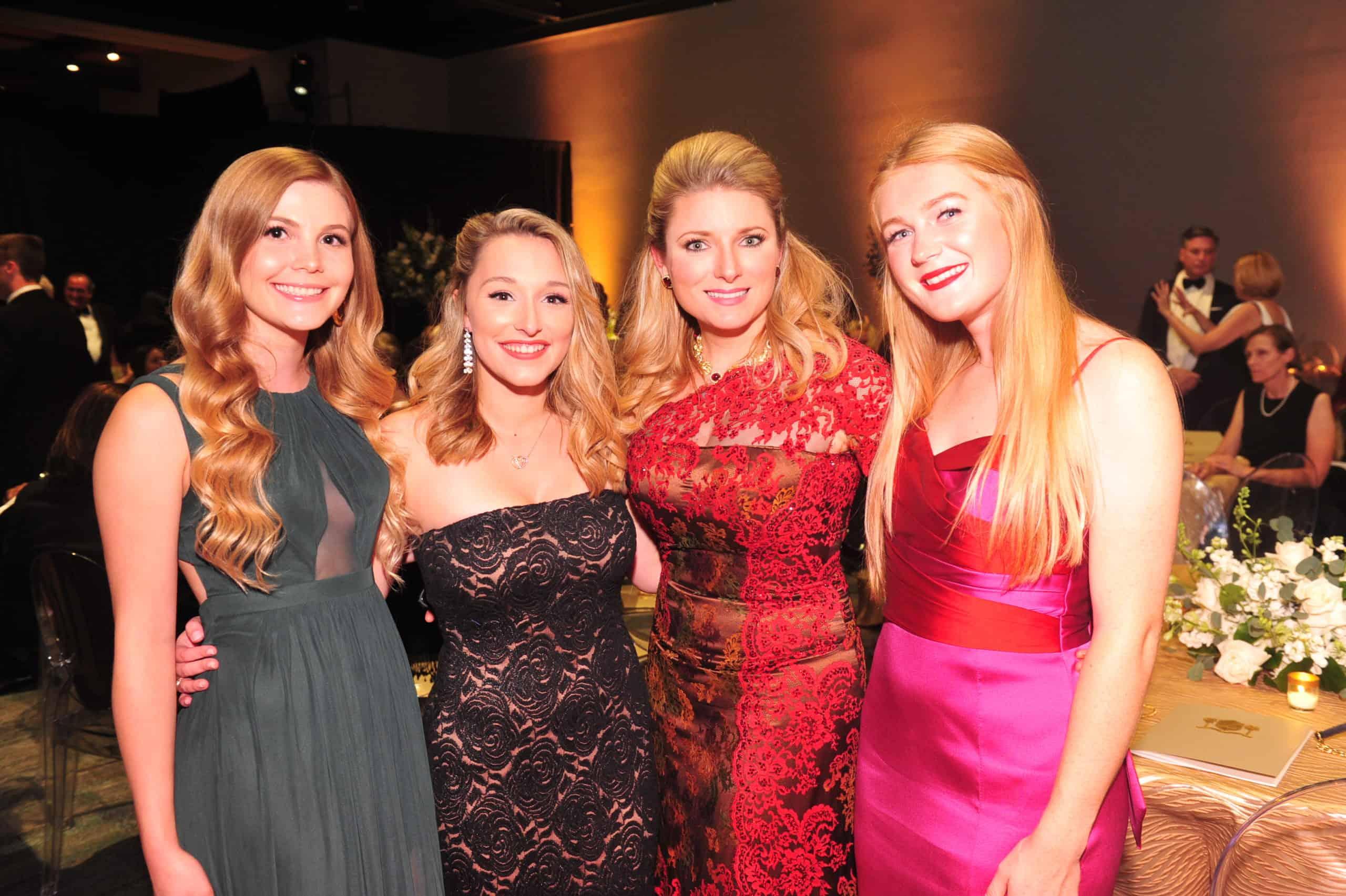 Mackenzie Sears, Taylor Mahnke, Kristin Tips and Jaclyn Heifer