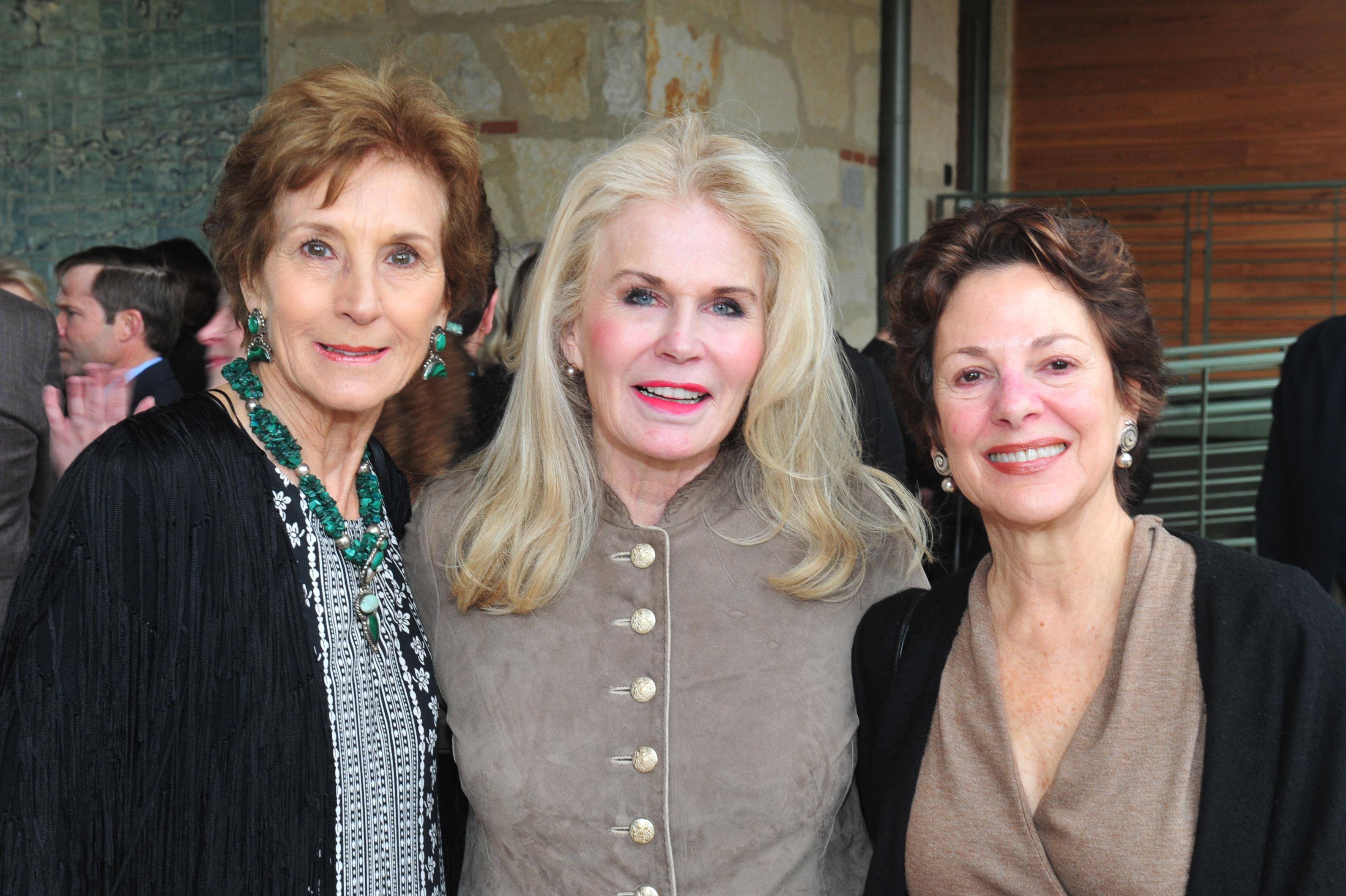 Martha Maxwell, Cheri Longoria and Mary Philips