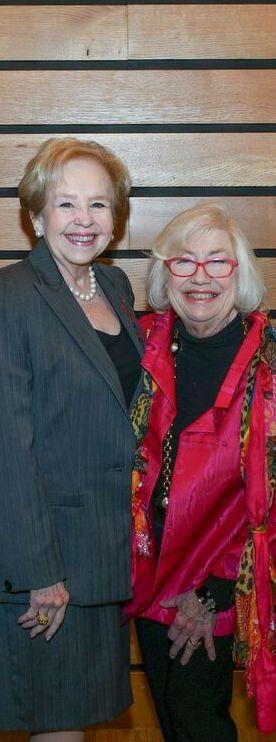 Nancy Loeffler and Jane Macon