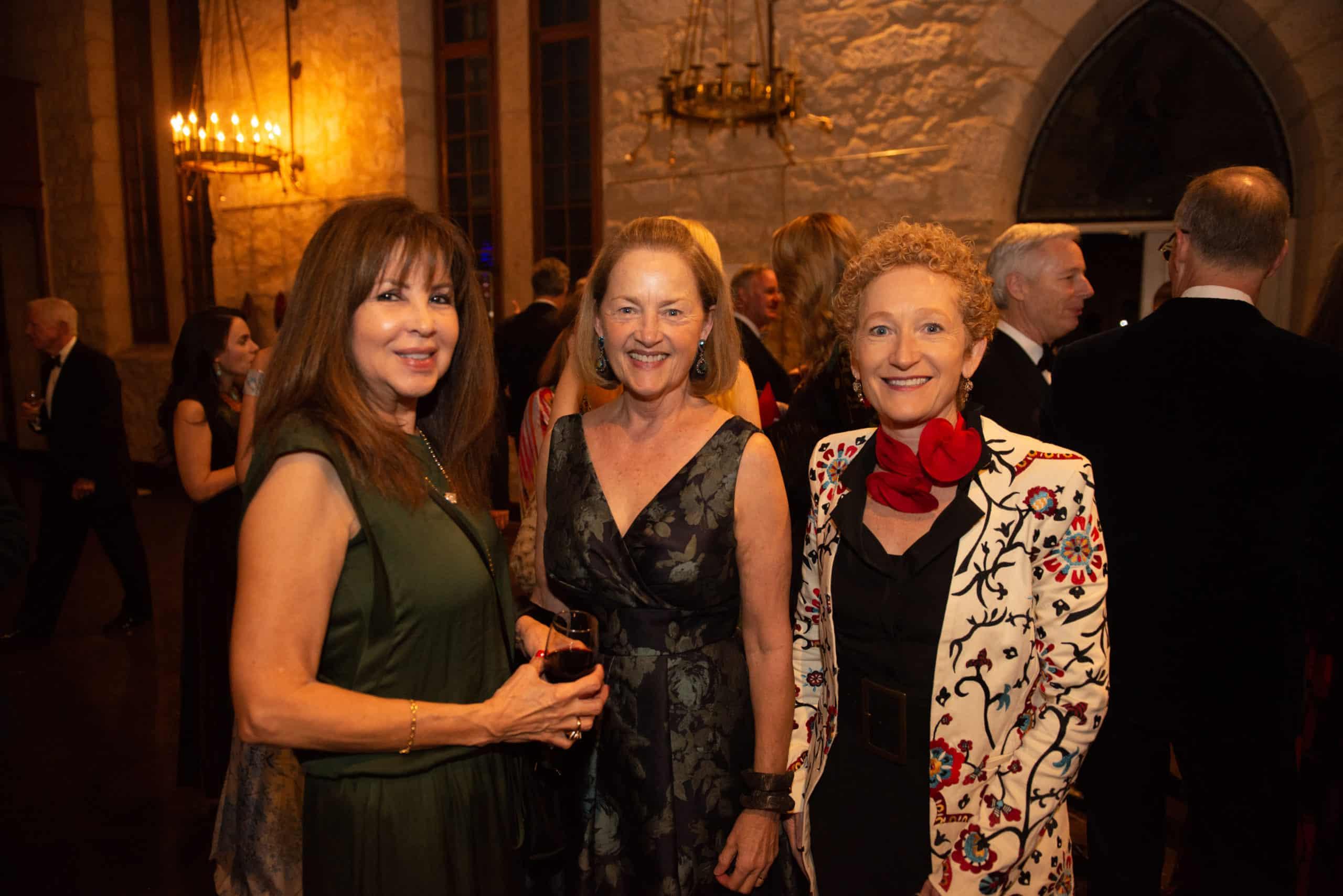 Norma Bodevin, Paula Owen and Karina Dolgin