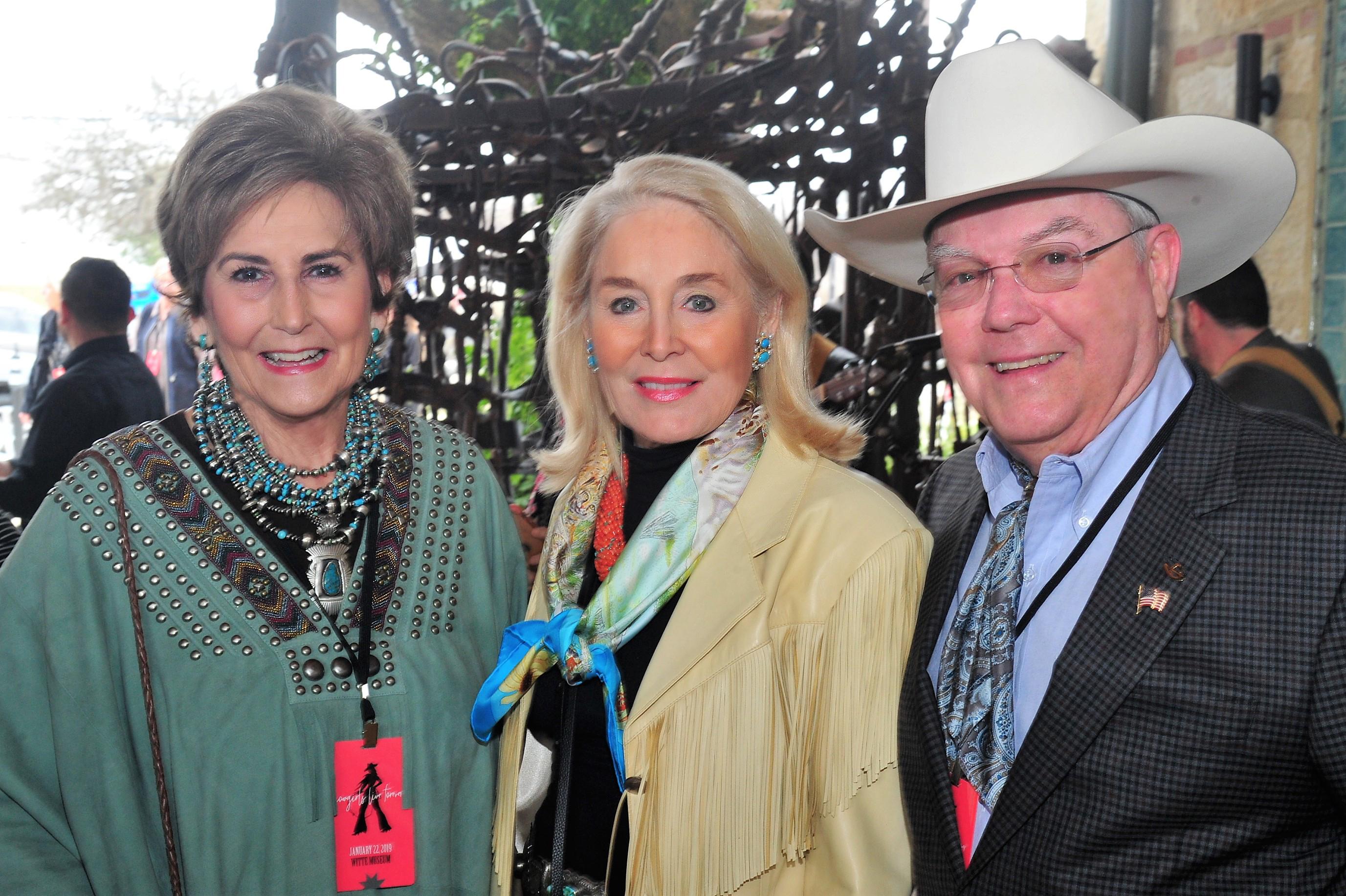 Olive Anne Kleberg, Janell Kleberg and Richard Kleberg