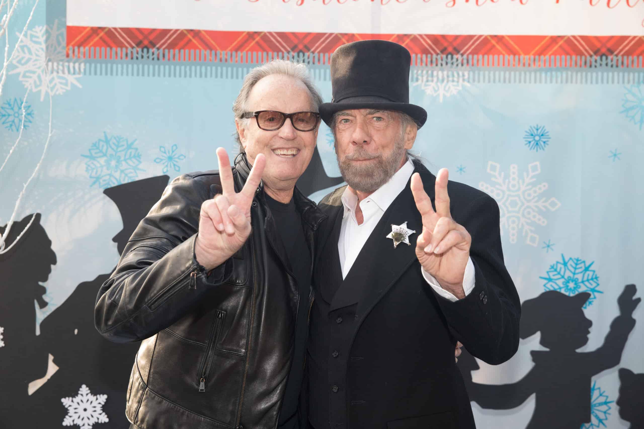 Peter Fonda and John Paul DeJoria