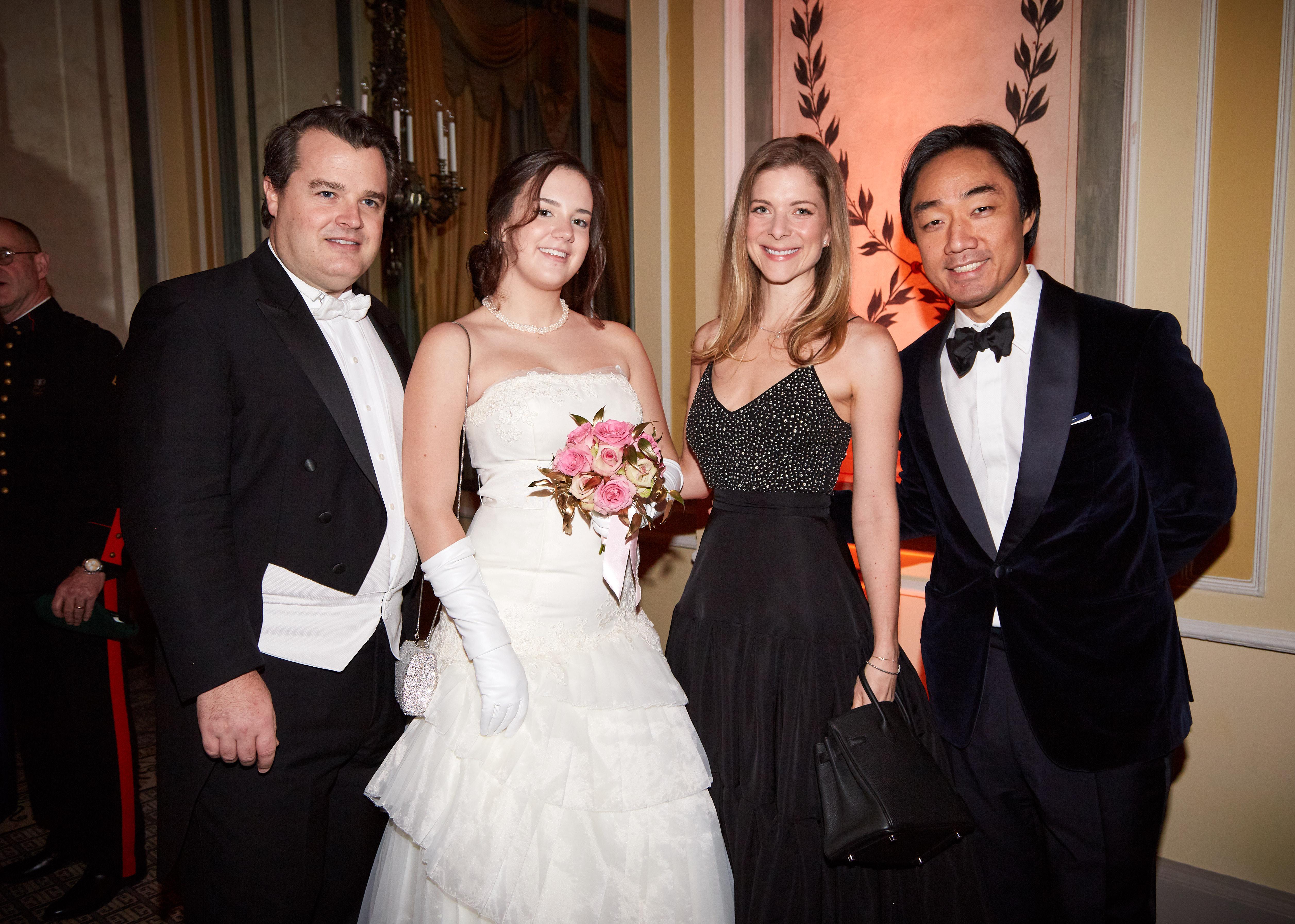 Phillip Escaravage, Adelaide Escaravage & Carolina and Soo Kim