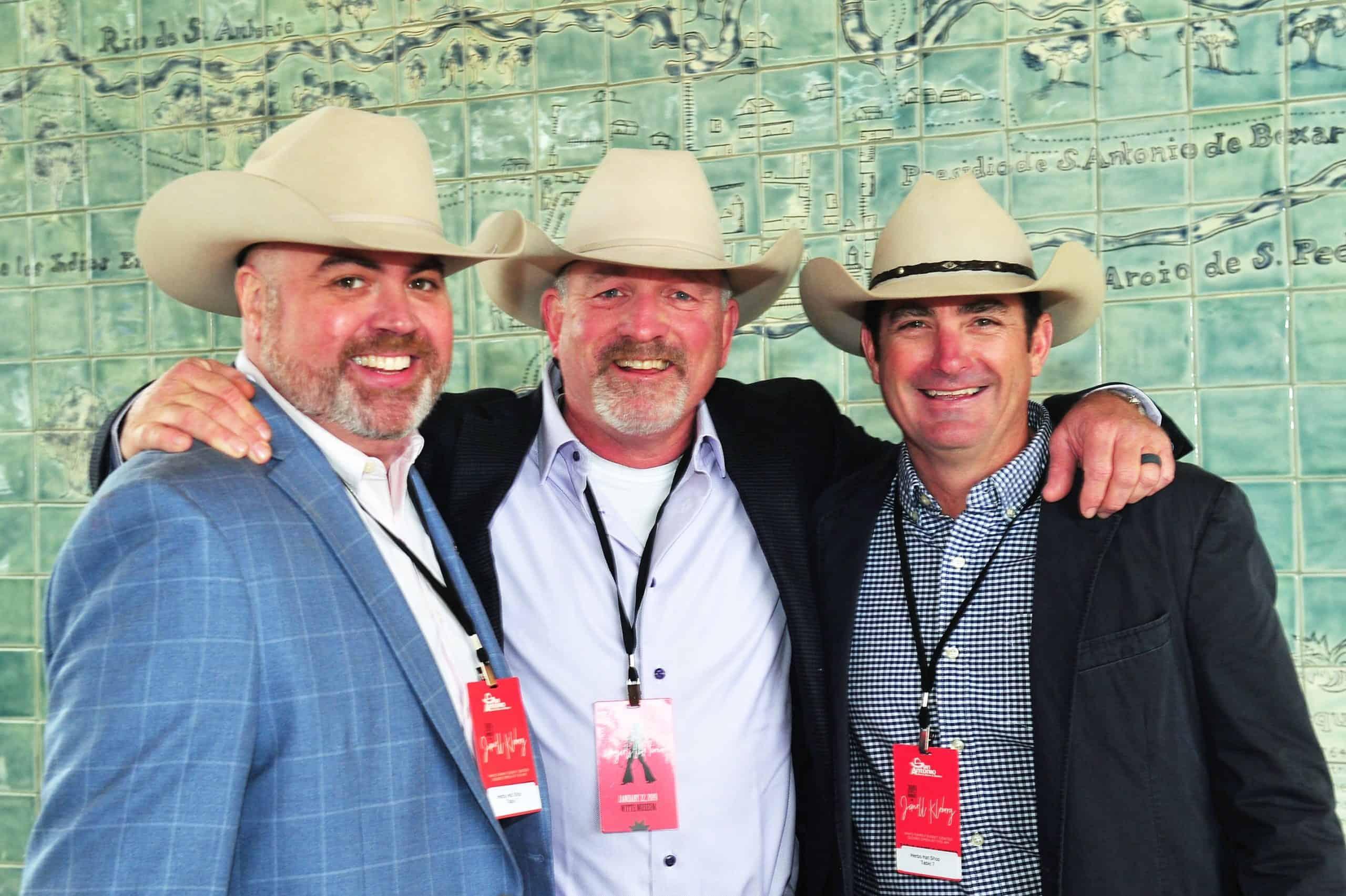 Scott Lamoureux, Brian Maynard and Matt Maroney