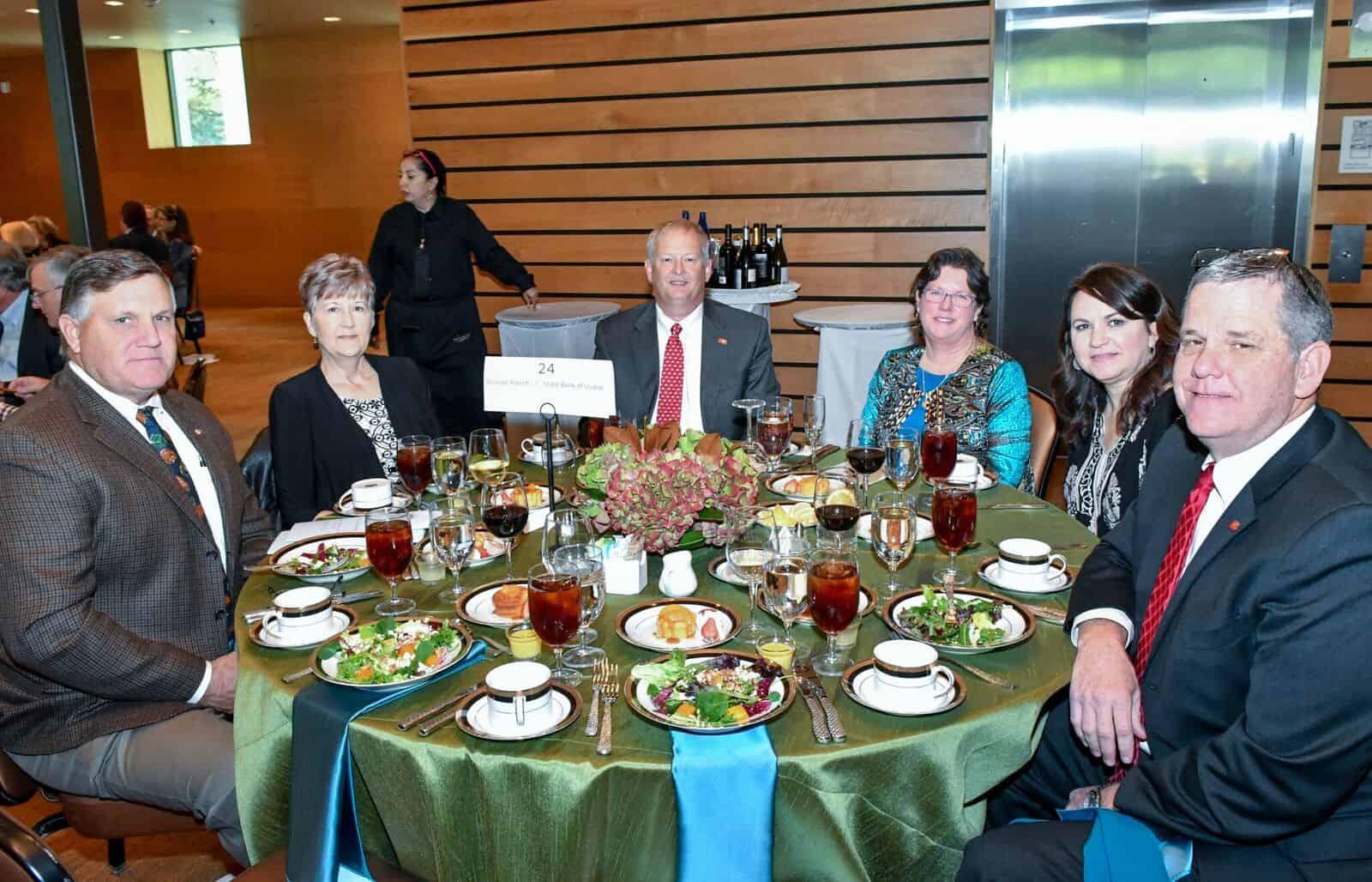 Tommy Leonard, Revis Leonard, Roy and Carol Kothmann, Lisa Parker and Cody Smith