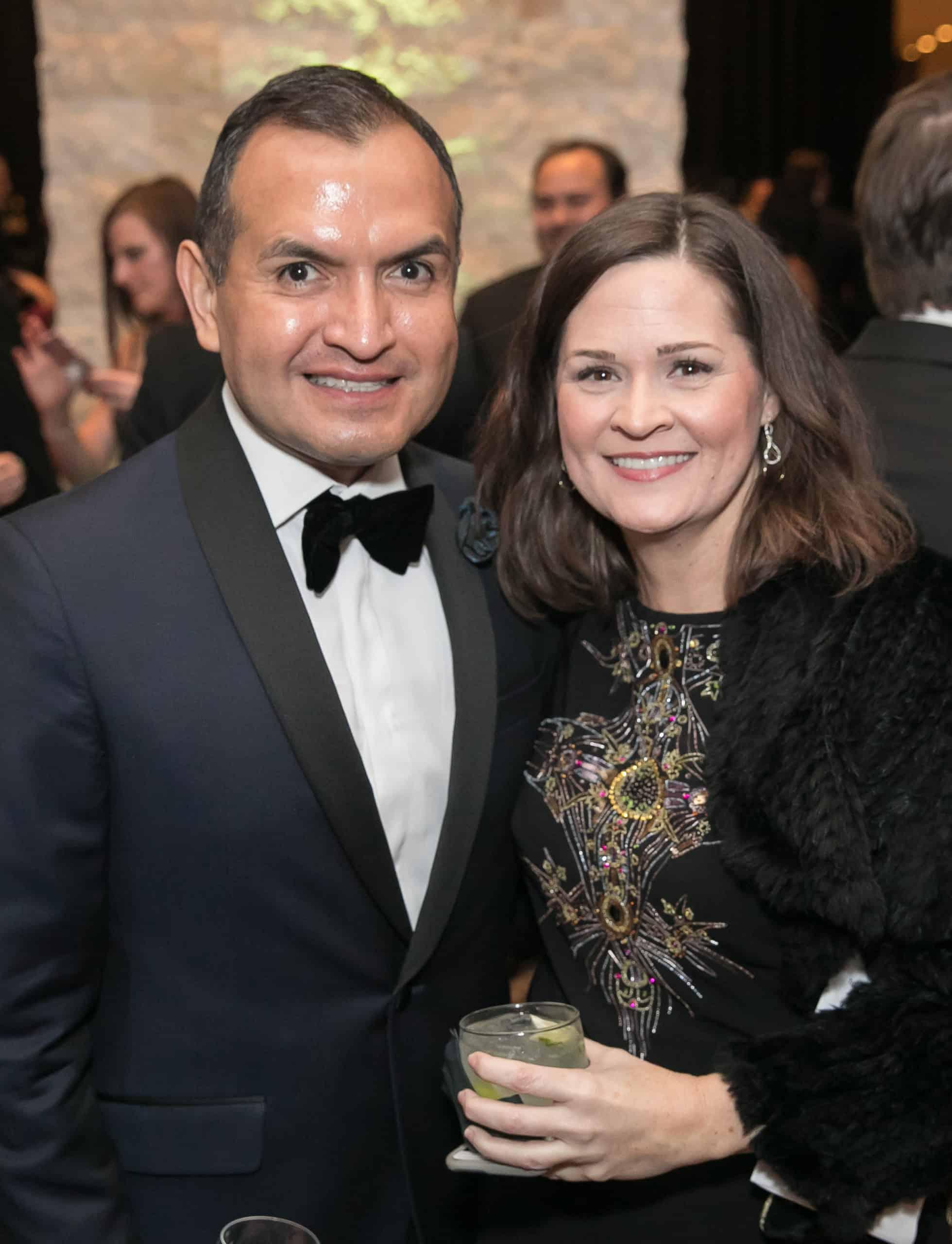 Armando Zambrano and Cori Modisett