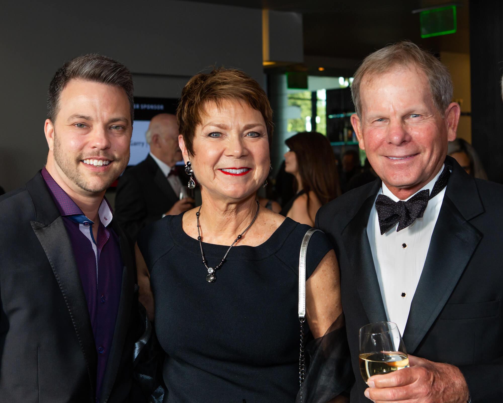 Sam Slate, Kathy Hutto and Allen Beinke