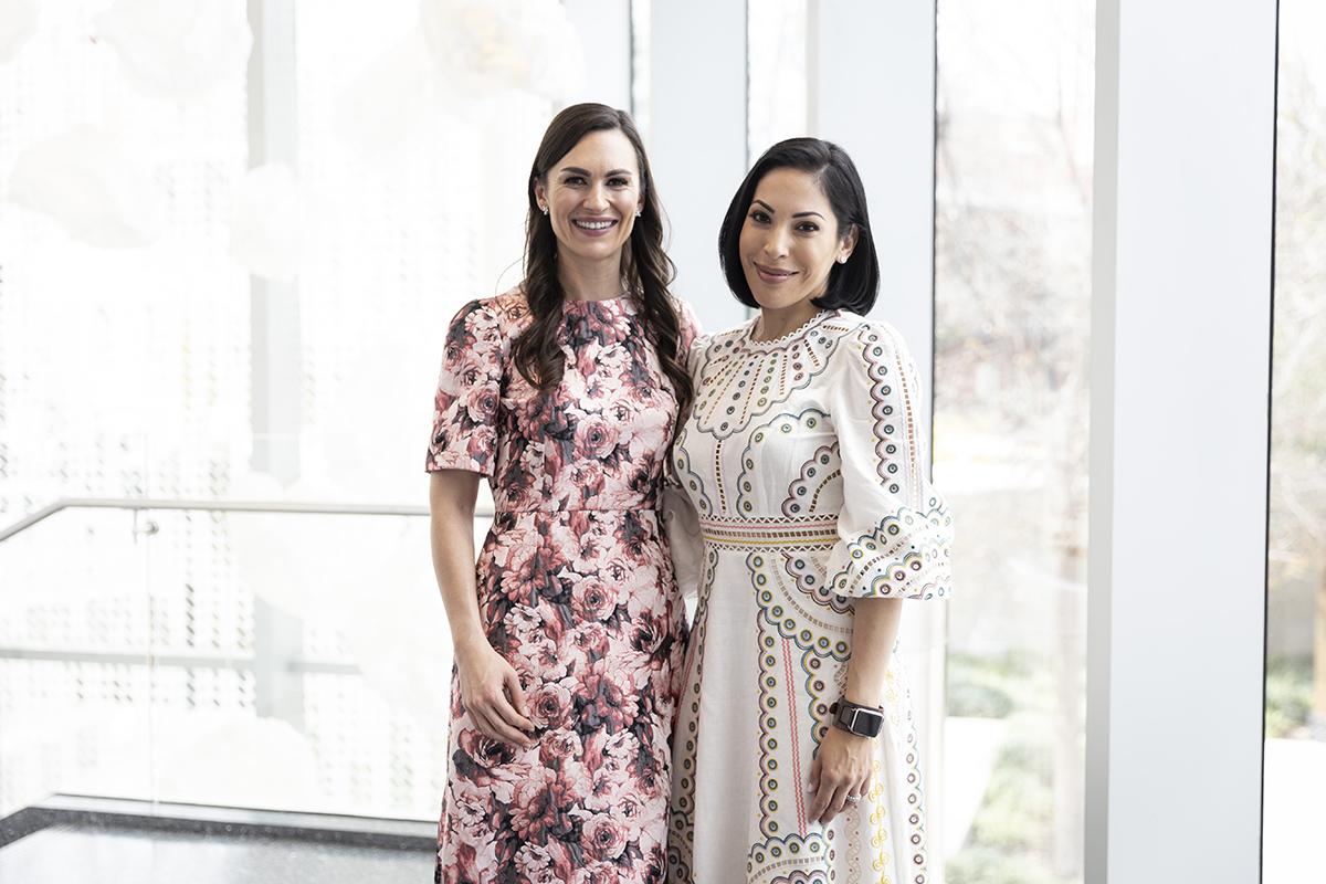 Carla Brozovich and Sonya Medina Williams