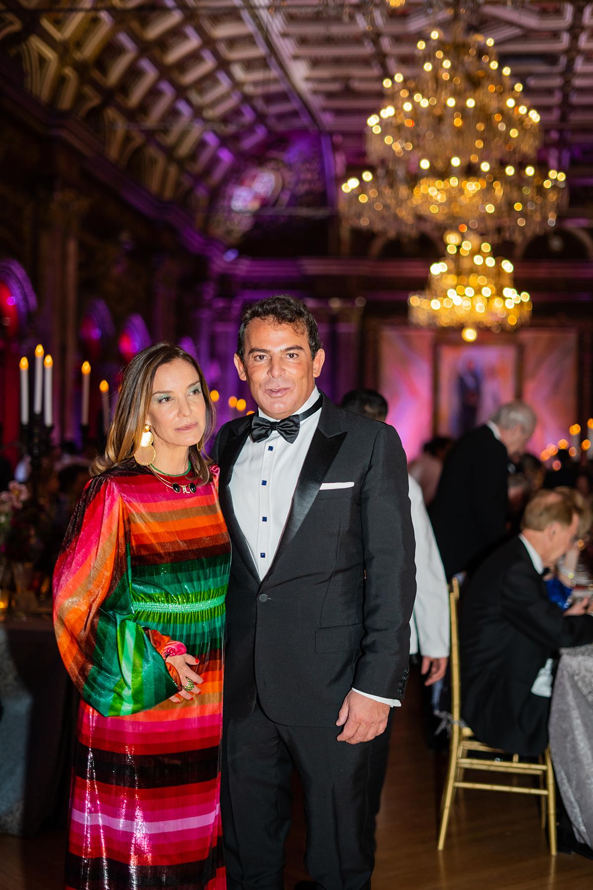 Ana Lucia de Teresa and Eugenio Lopez
