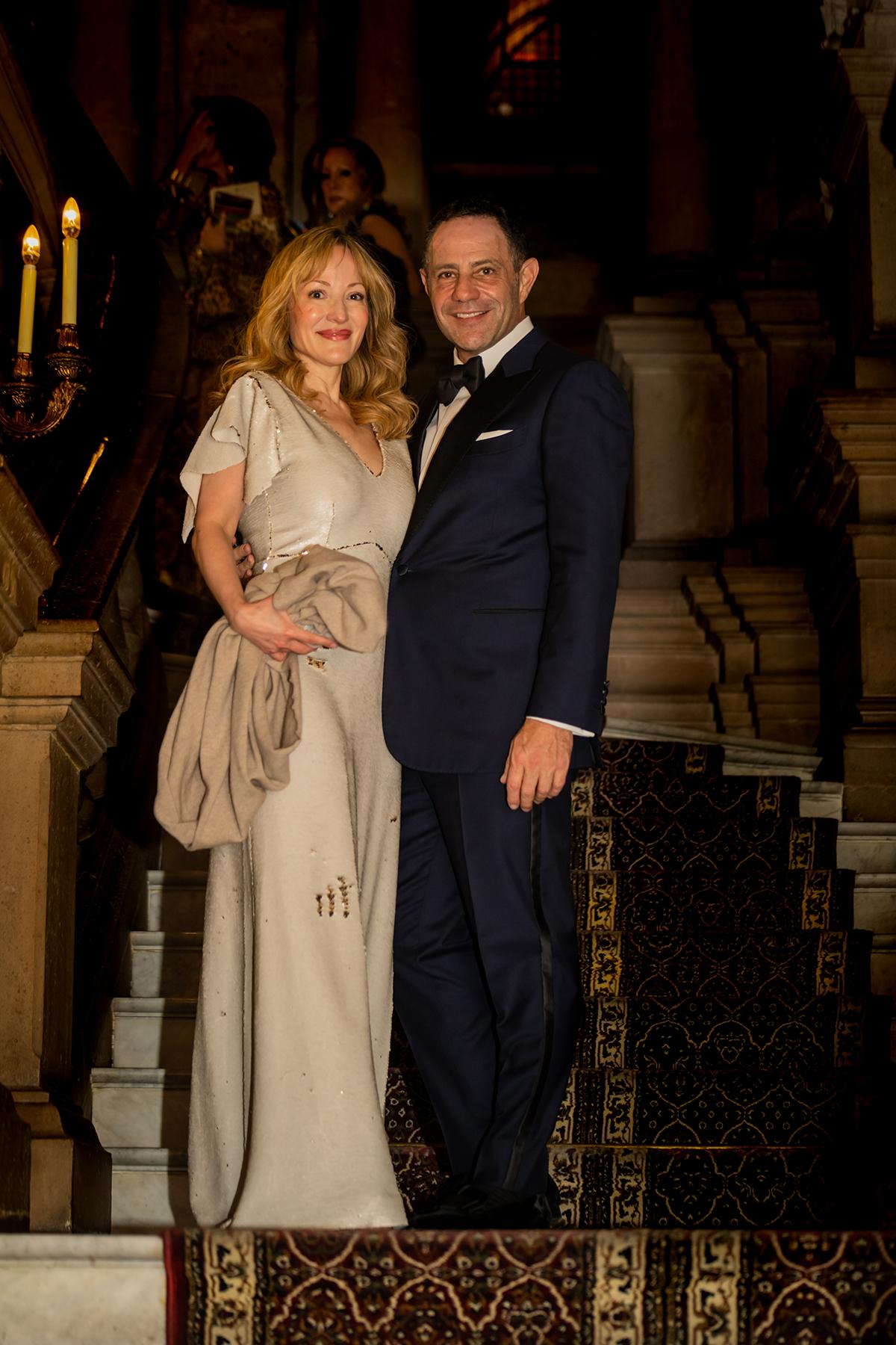 Denise de la Rue and Sergio Berger