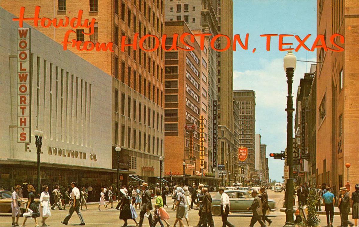 Downtown Houston, 1960s