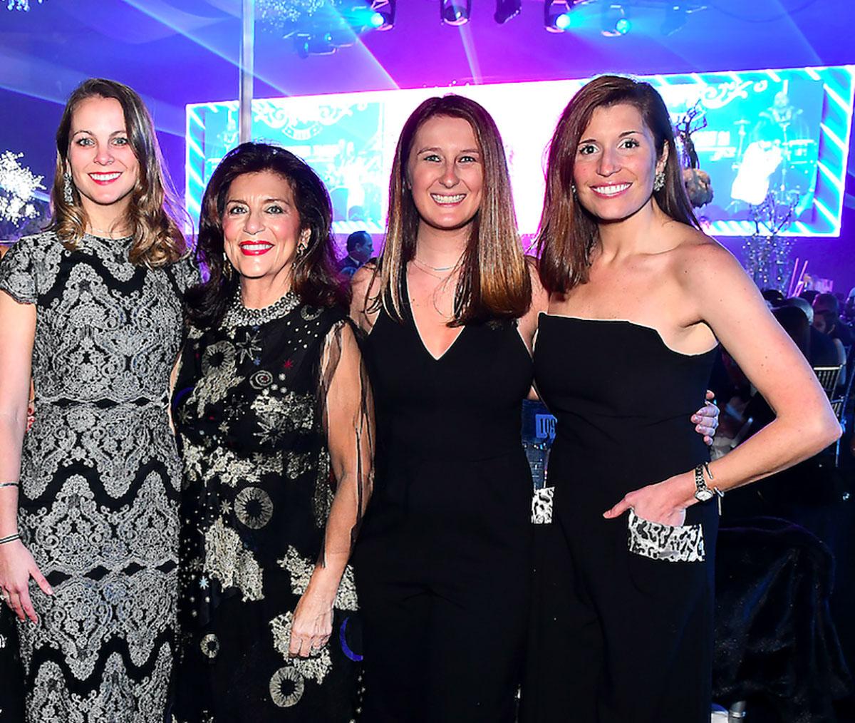 Hayden Rome, Dancie Ware, Mattie Van Gundy and Katelyn Gosslee