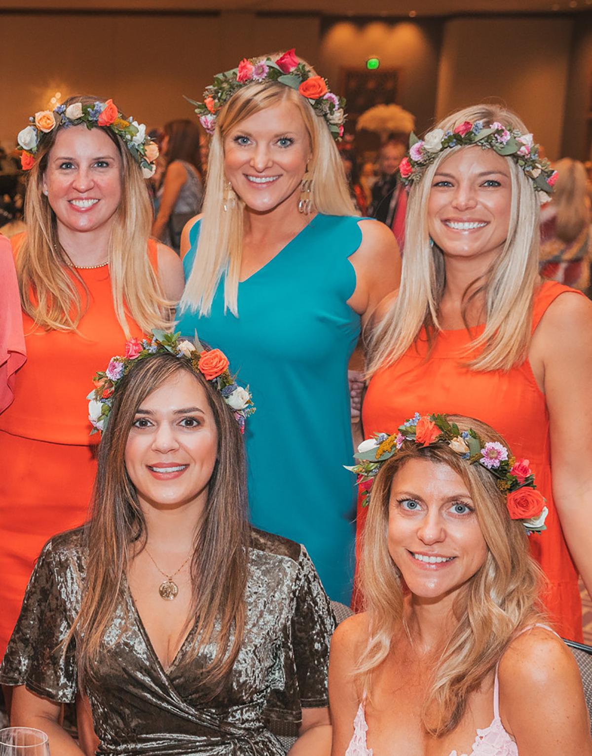 Heather Davis, Jessica Romero, Brittney Barnette Cally Hampton and Katie Herri