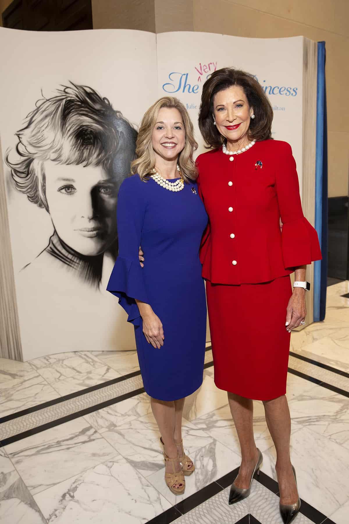 Julie Baker Finck and Betty Hrncir