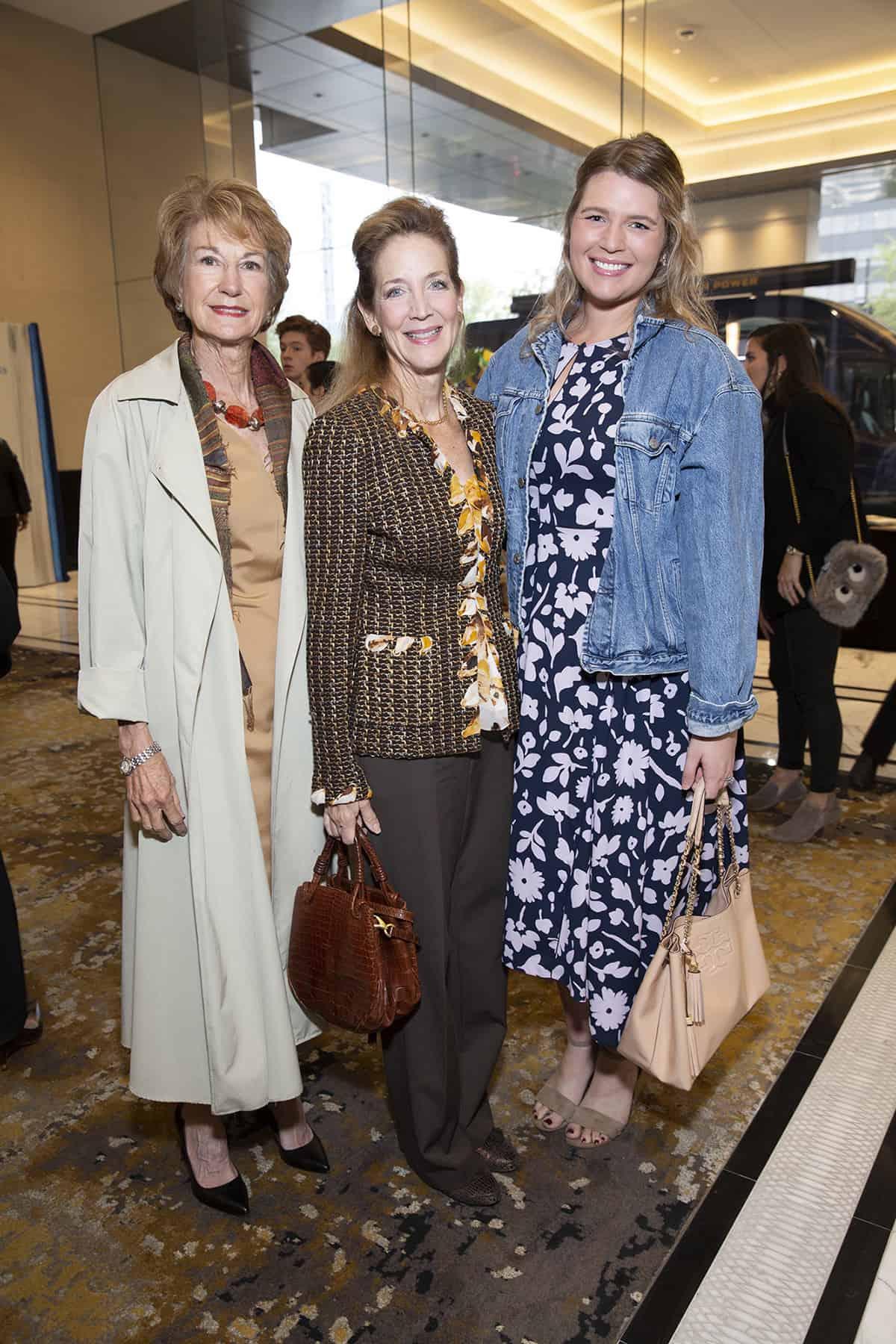 Laura McWilliams, Florence Langford, and Vivian Langford