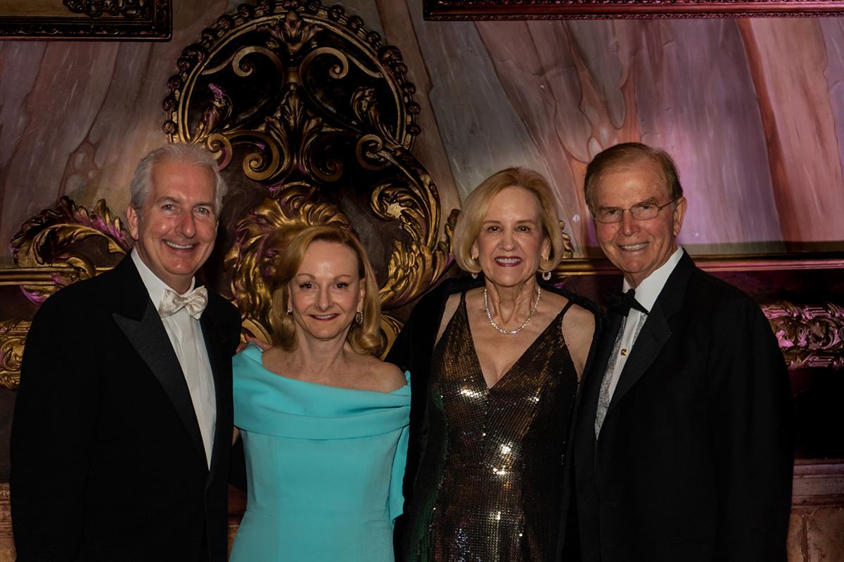 Peter Pavluk, Cherrill Farnsworth & Sue and Rusty Burnett