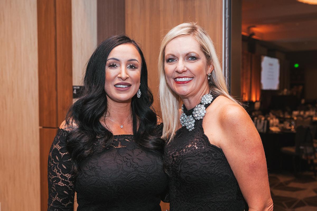 Sandra Lott and Renee Codina