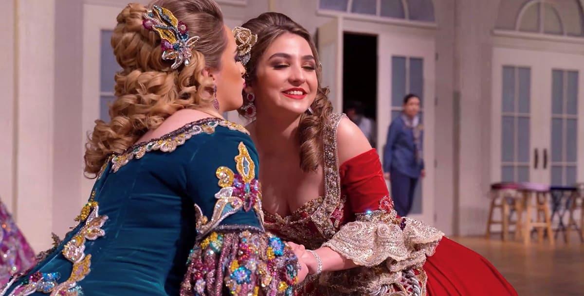 Sara Cristina Salido and Daniela Morales