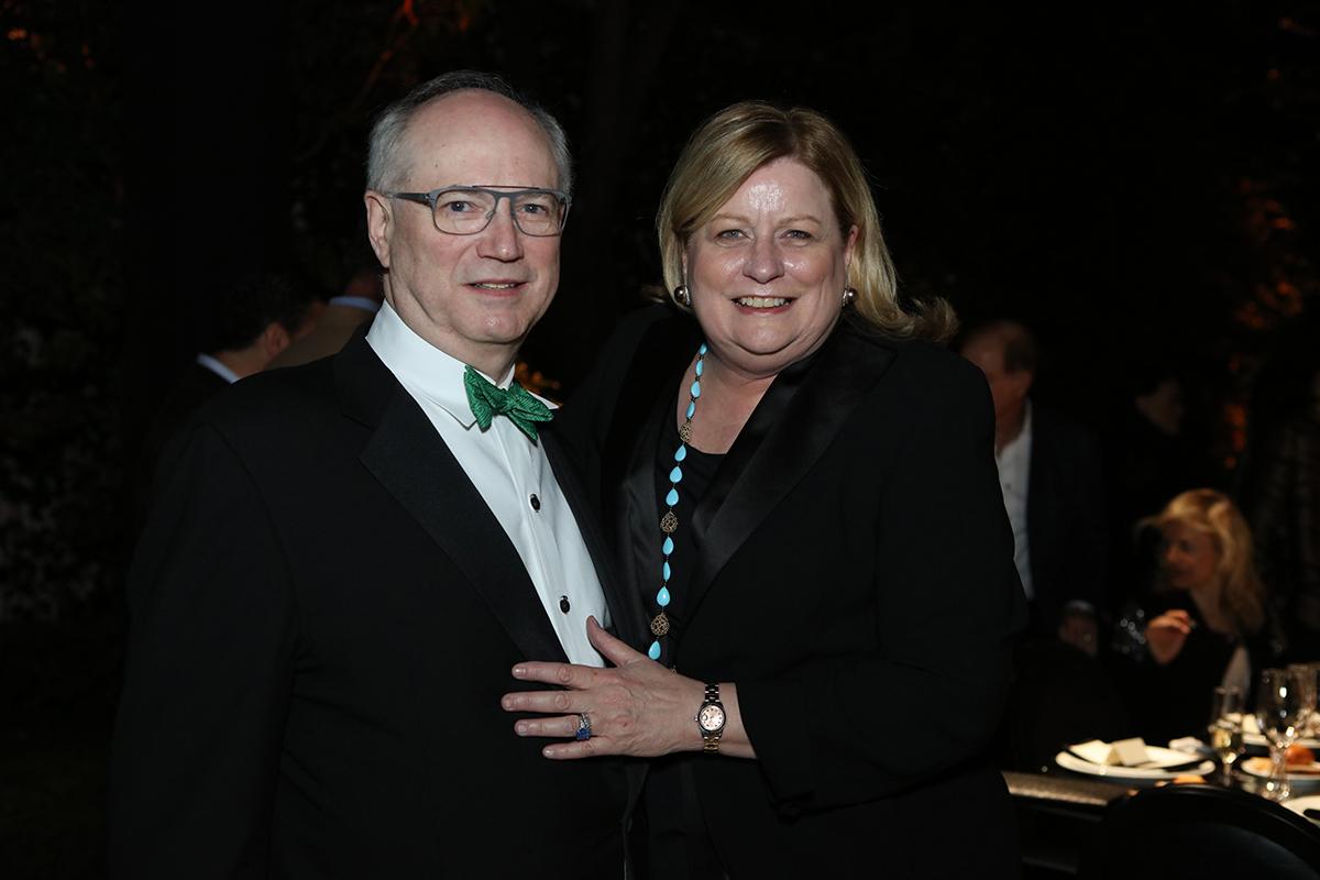 Stewart O'Dell and Lynn Mathre