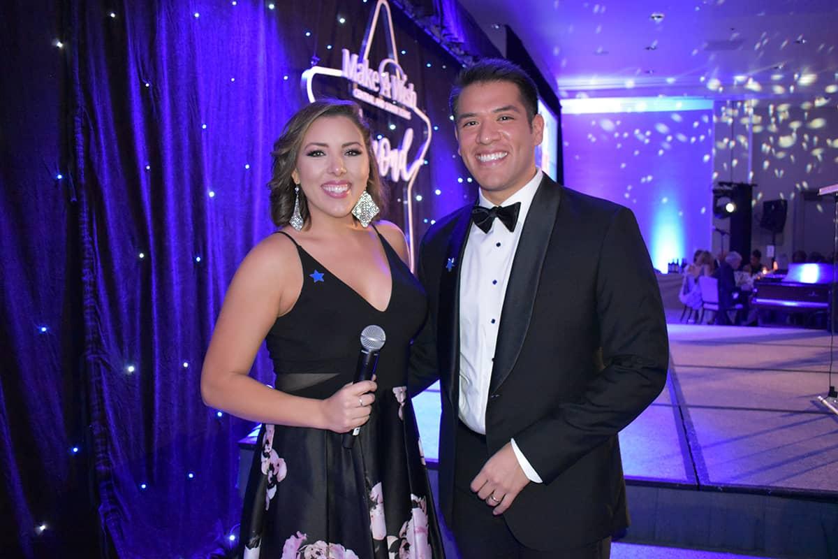 Allison Miller and John-Carlos Estrada