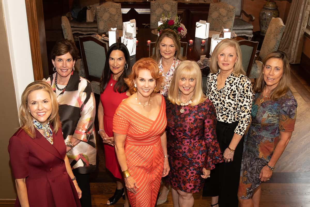 Heather Cooper, Lori Bush, Cile McCormick, Kendra Karlock, Barenda Hino, Celia Crank, Jolie Humphrey, and Therese Rourk