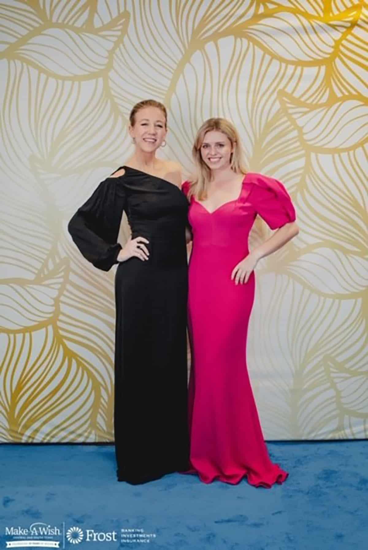 Jamie Leigh Jones and Danielle Carrier