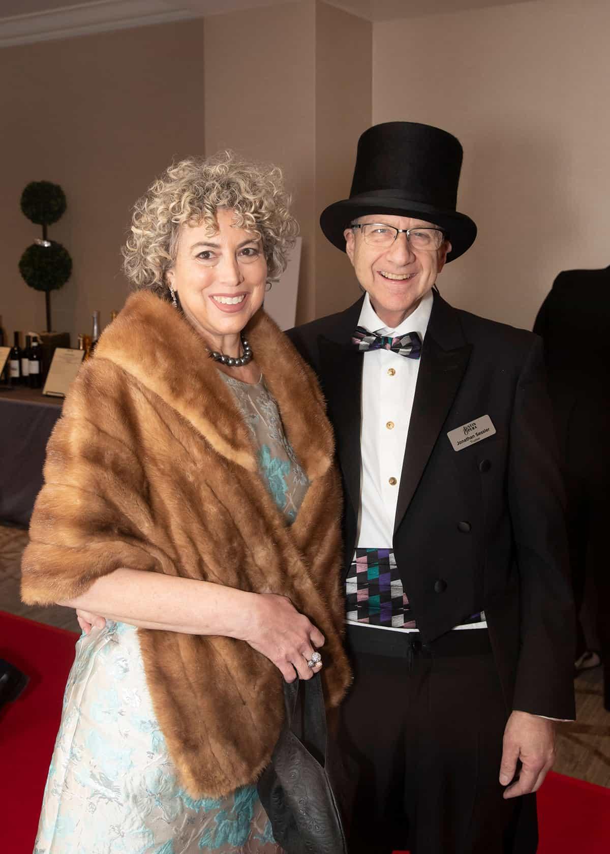 Kara Salmanson and Jonathan Sessler