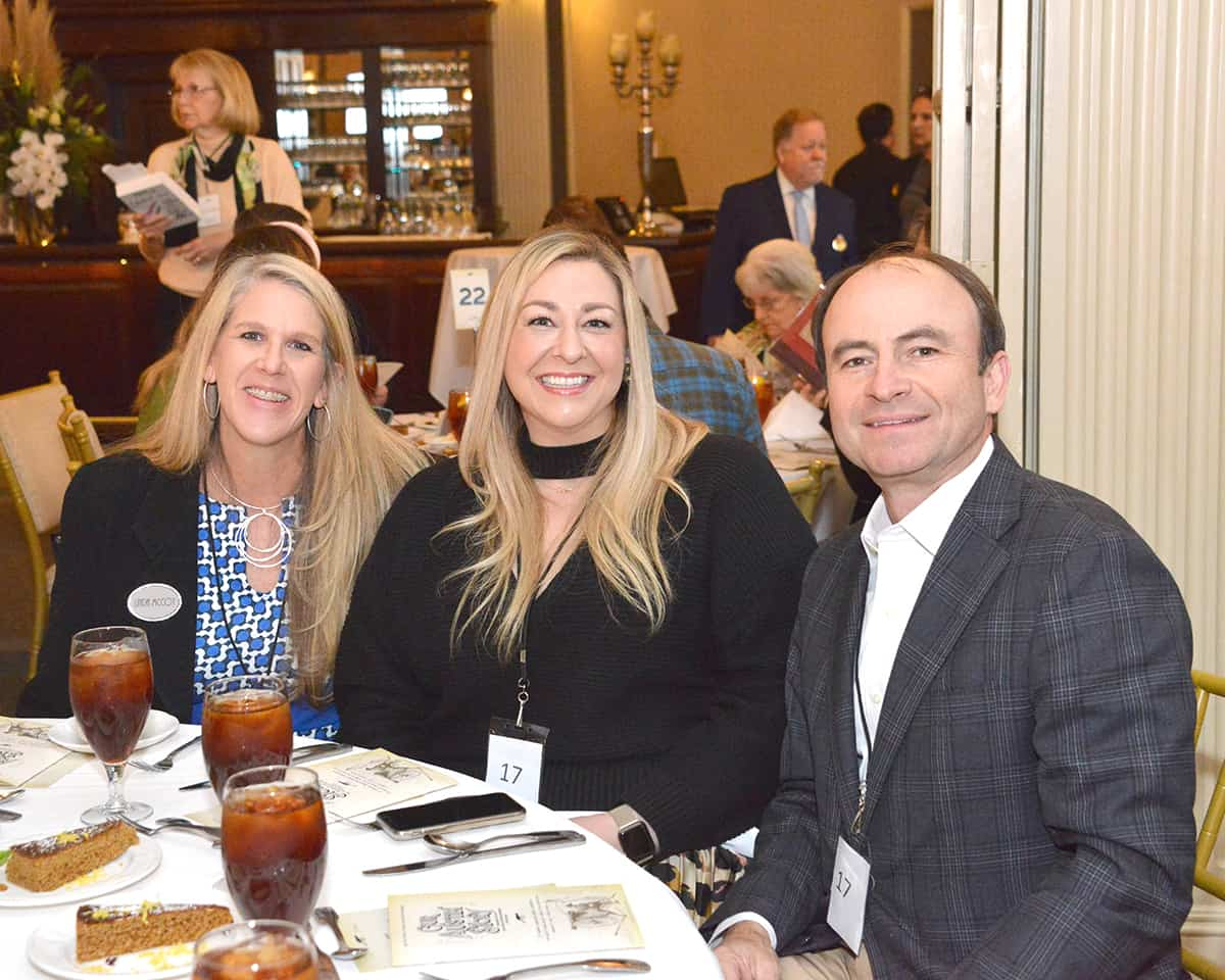 Linda McCoy, Lauren Garcia and Mike Gershon