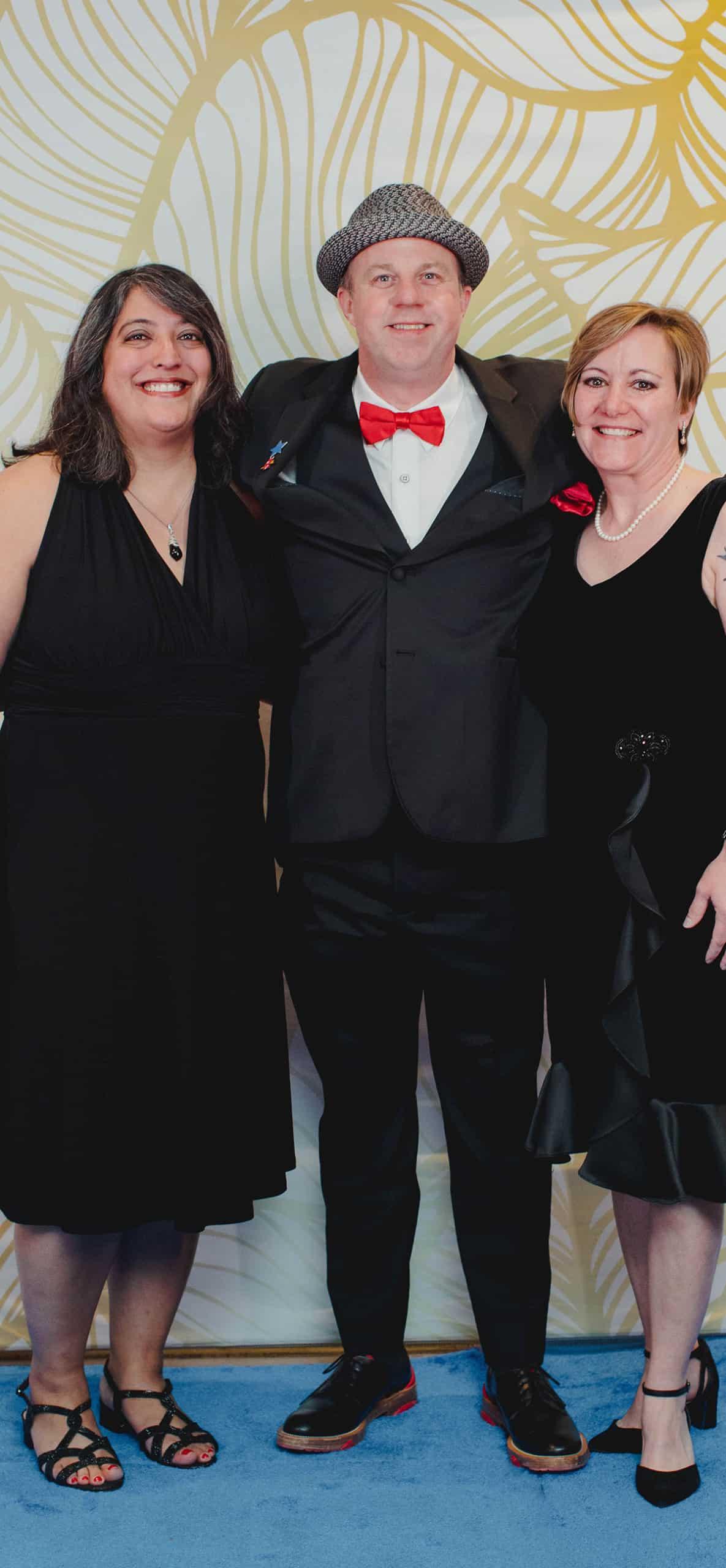 Rita Paul, Mike Rypka and Cheryl Drummond
