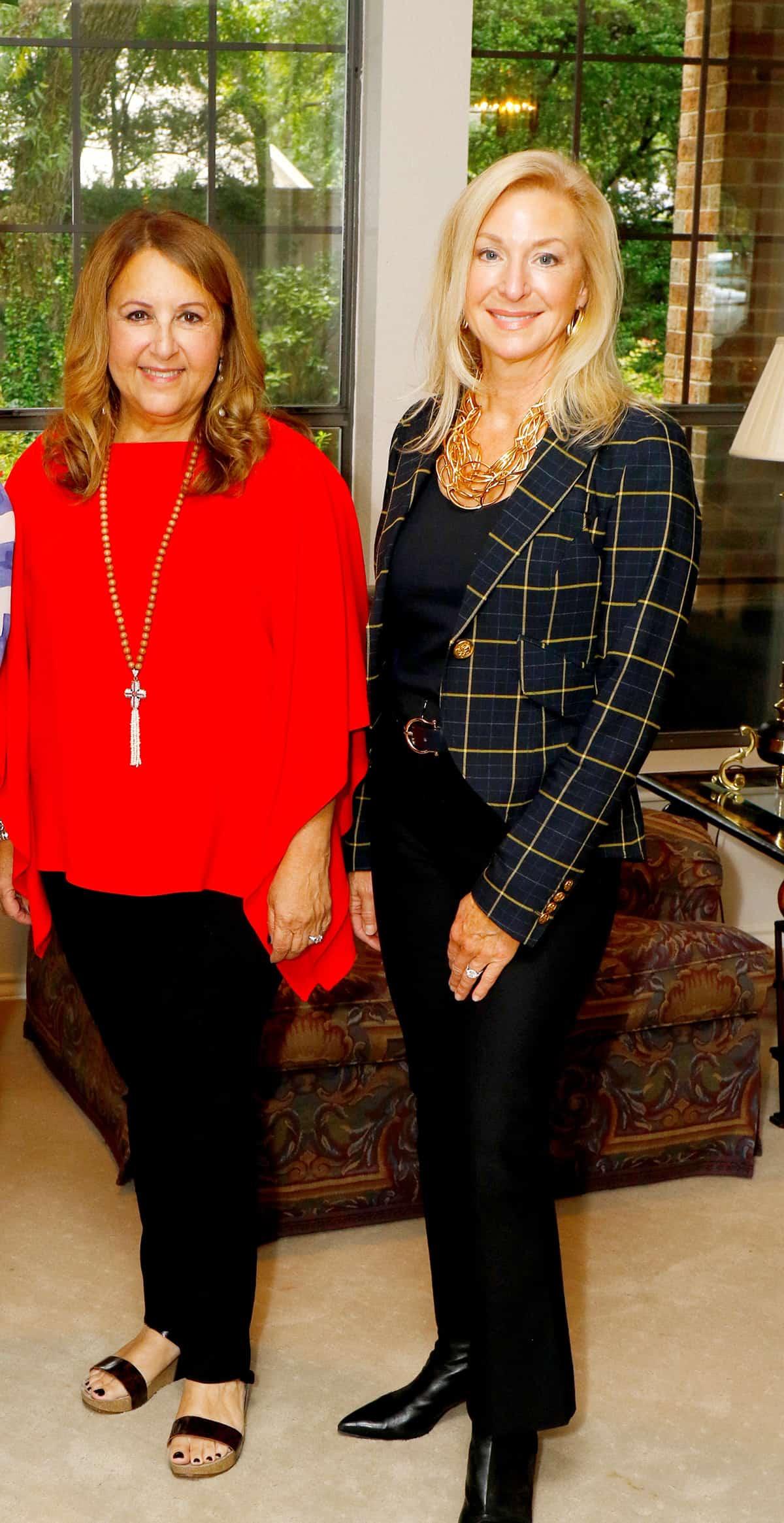 Terri Bumgarner and Kim Dale