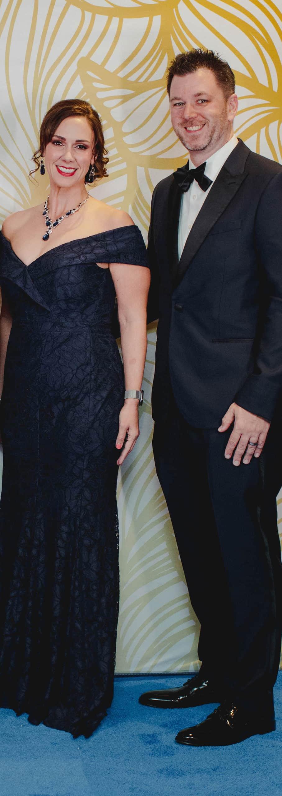 Tiffany and David Dorsey