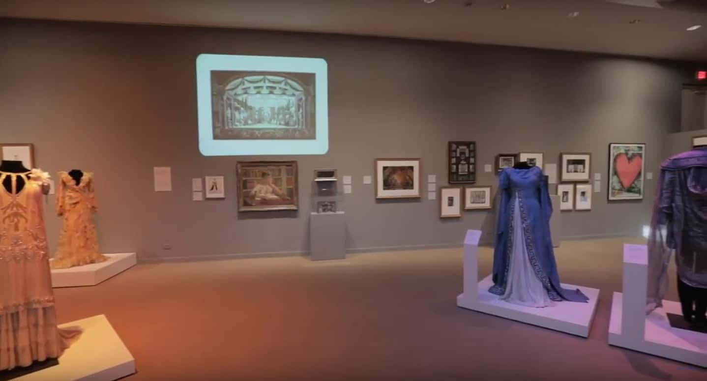 Robert L. B. Tobin exhibit 2020. Courtesy of McMay Art Museum