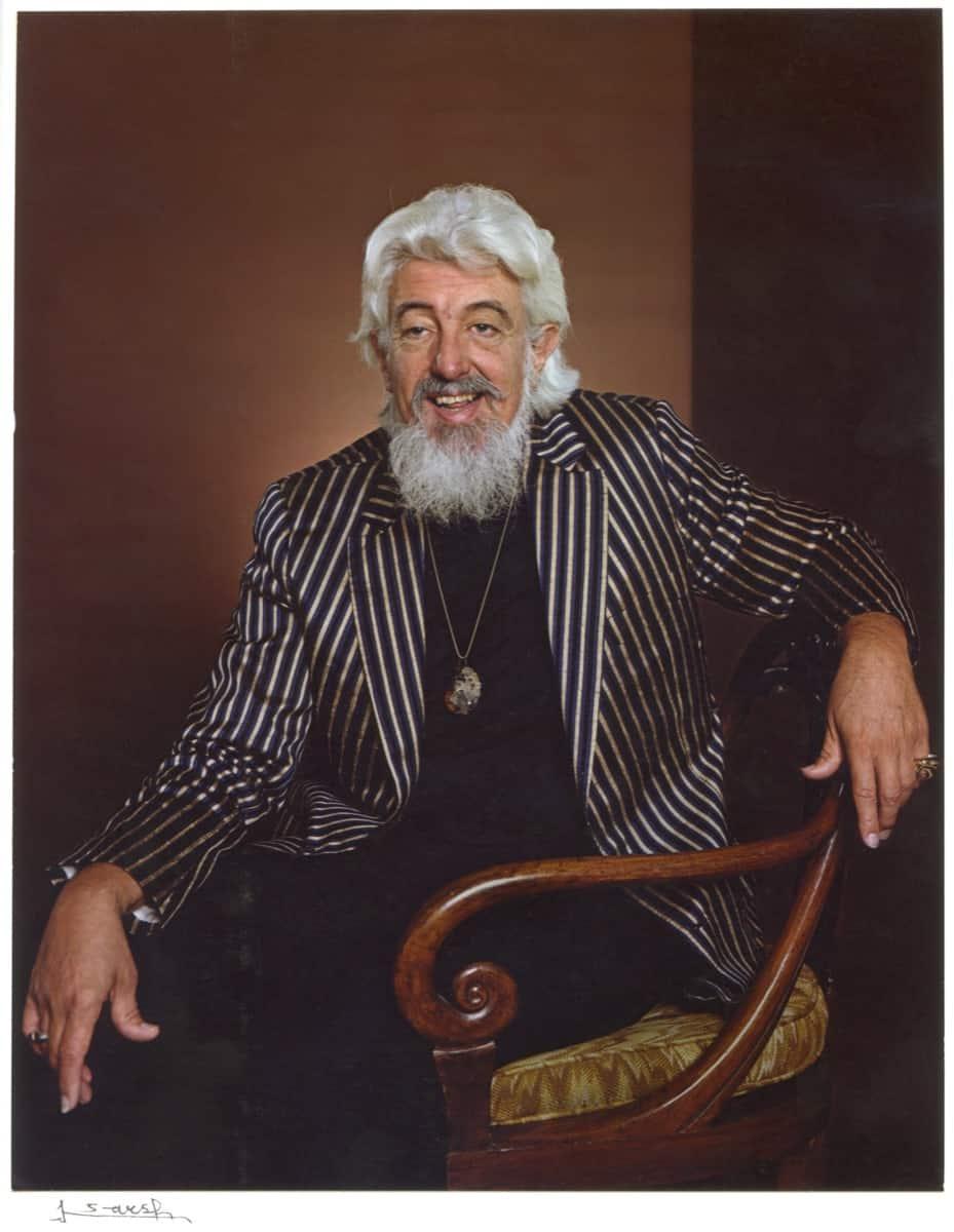 Robert L. B. Tobin. Photography by Karsh, 1980s