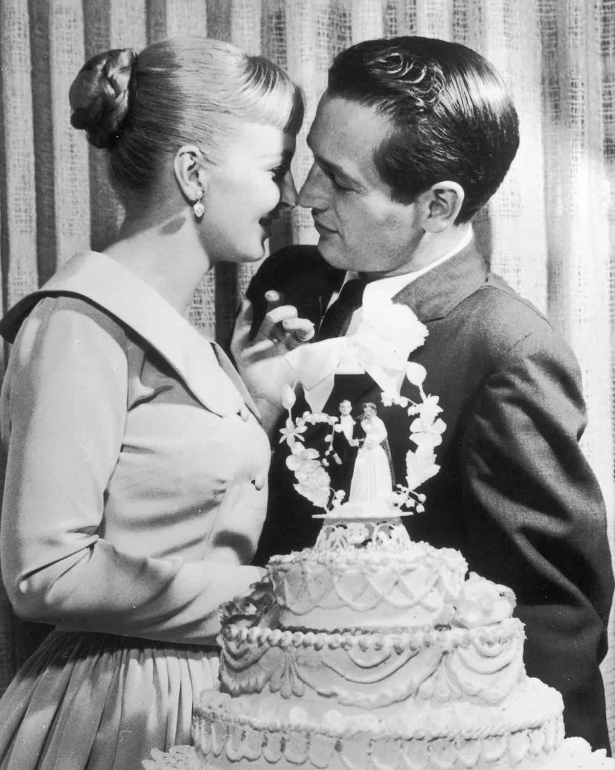 Joanne Woodward and Paul Newman, 1958