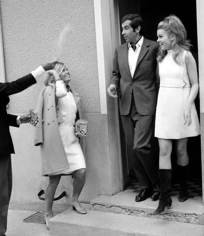 Roger Vadim and Jane Fonda, 1965