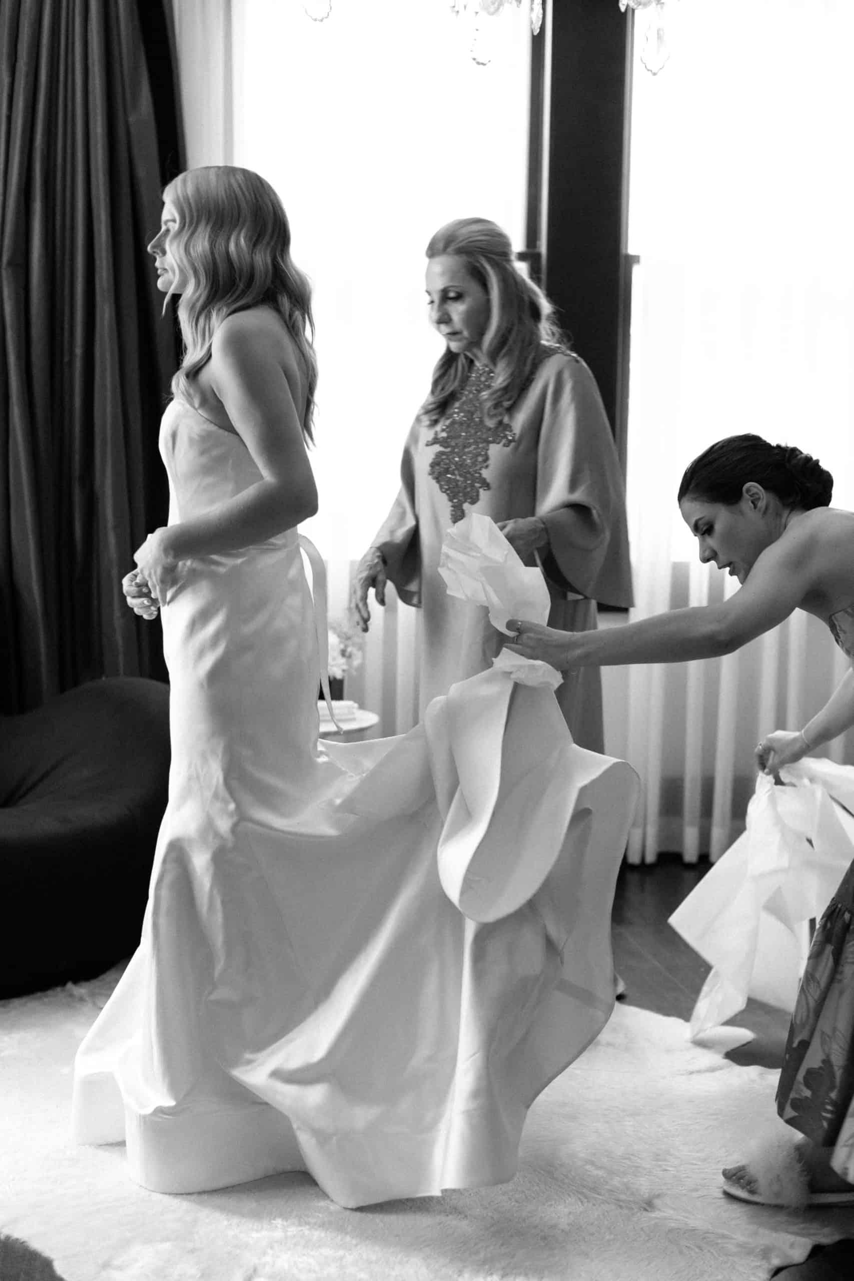 Madeline Dunham, Denise Hyde and Alexandra Noal