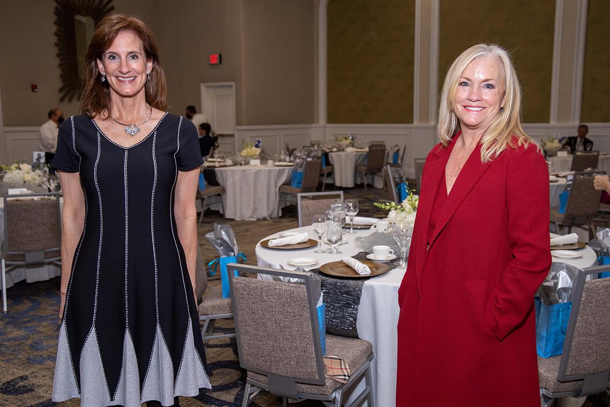 Anne Ligon and Karen Cox