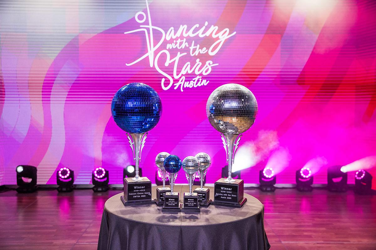 Mirror Ball trophies