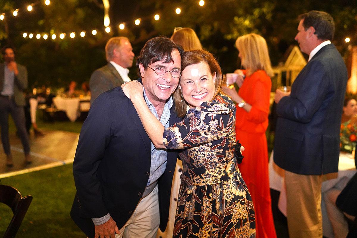 Rick Liberto and Jenny Gibson