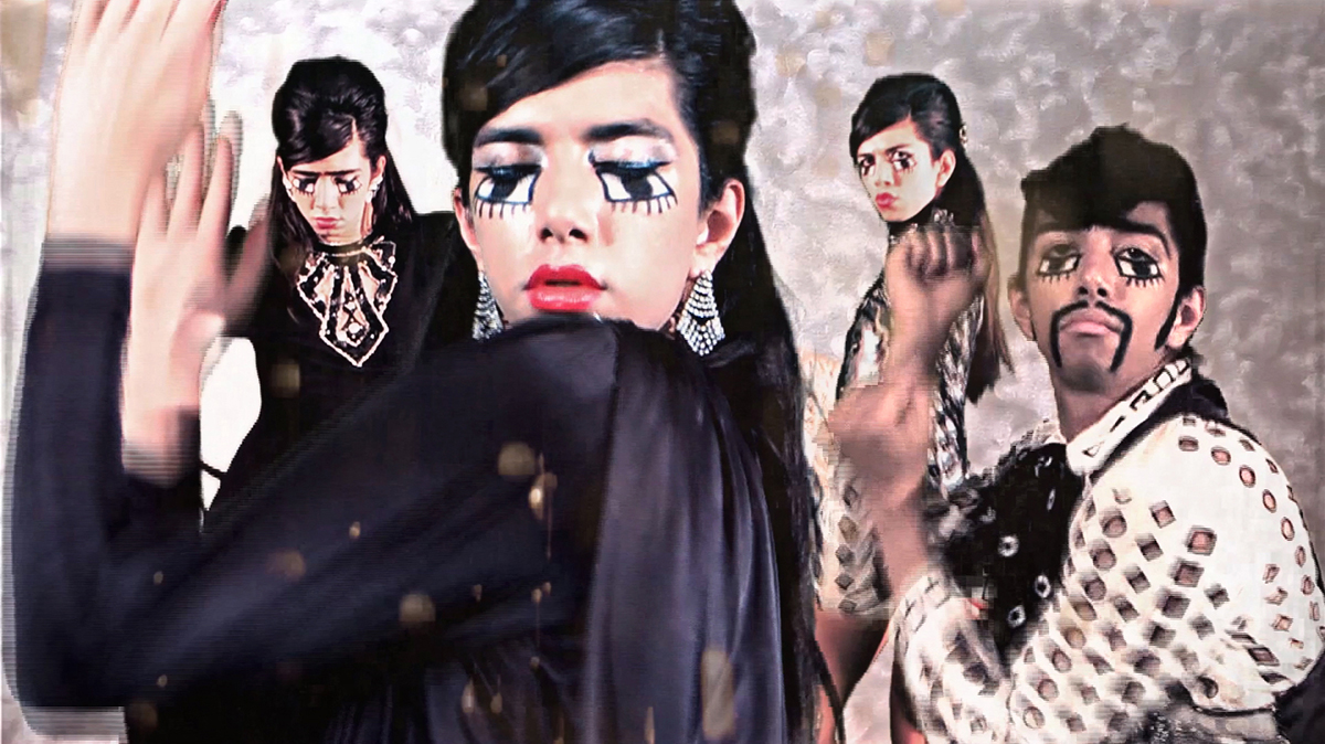 SA Martine Gutierrez, Still from Clubbing, 2012. HD video. Collection of the McNay Art Museum, © Martine Gutierrez.