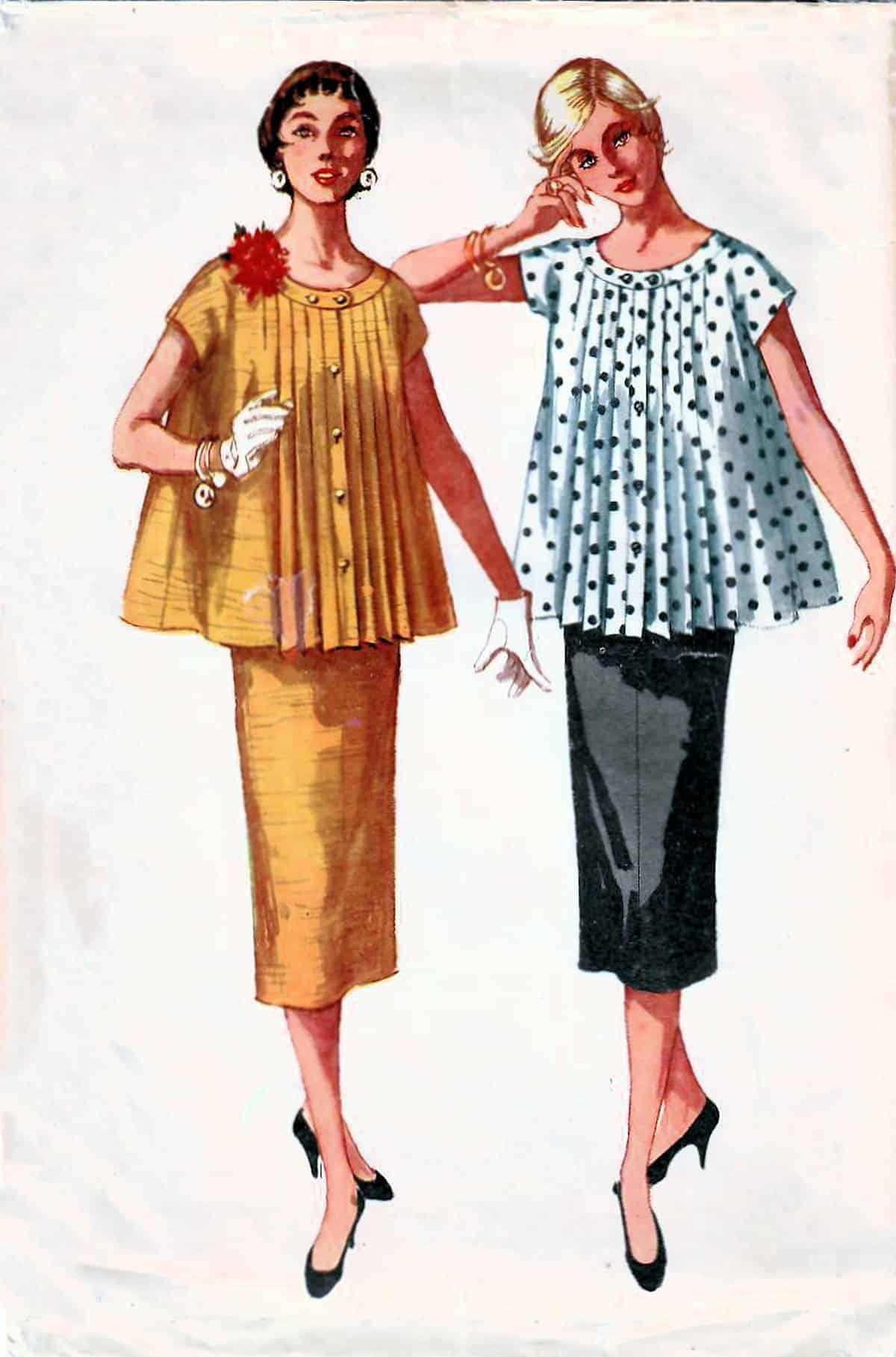 2nd Maternity fashion, 1950s