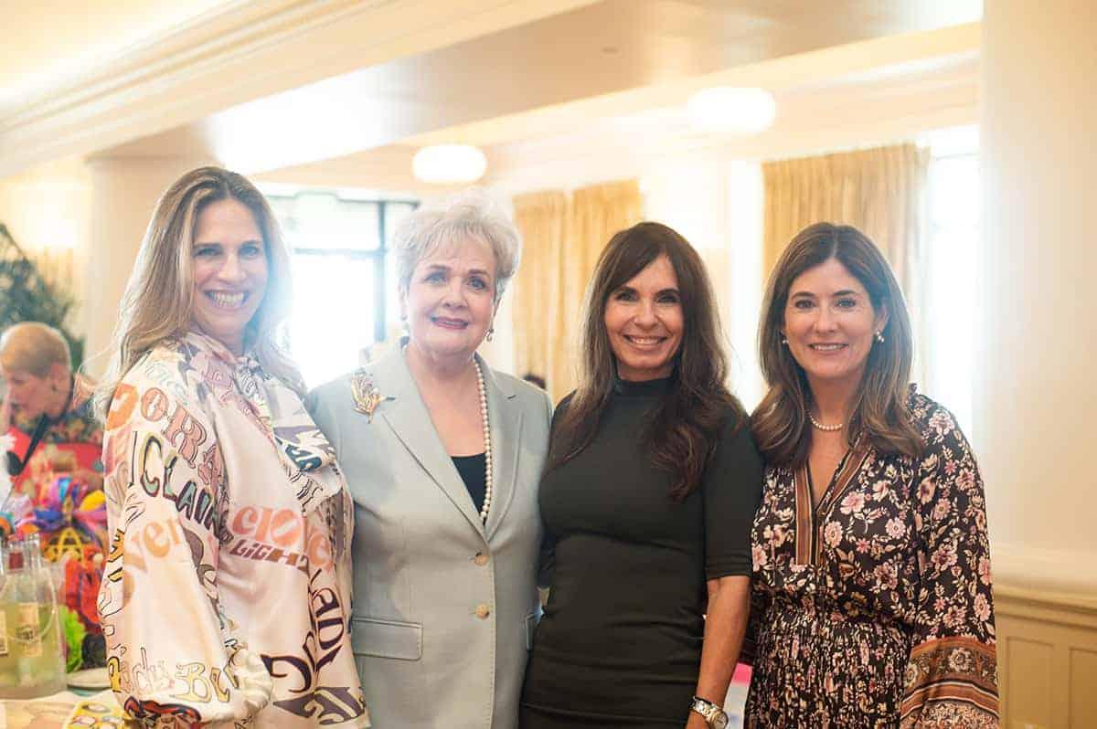 Niti Volpe, Veronica Boldt, Elizabeth Leyendecker Greenblum and Christina Gutierrez