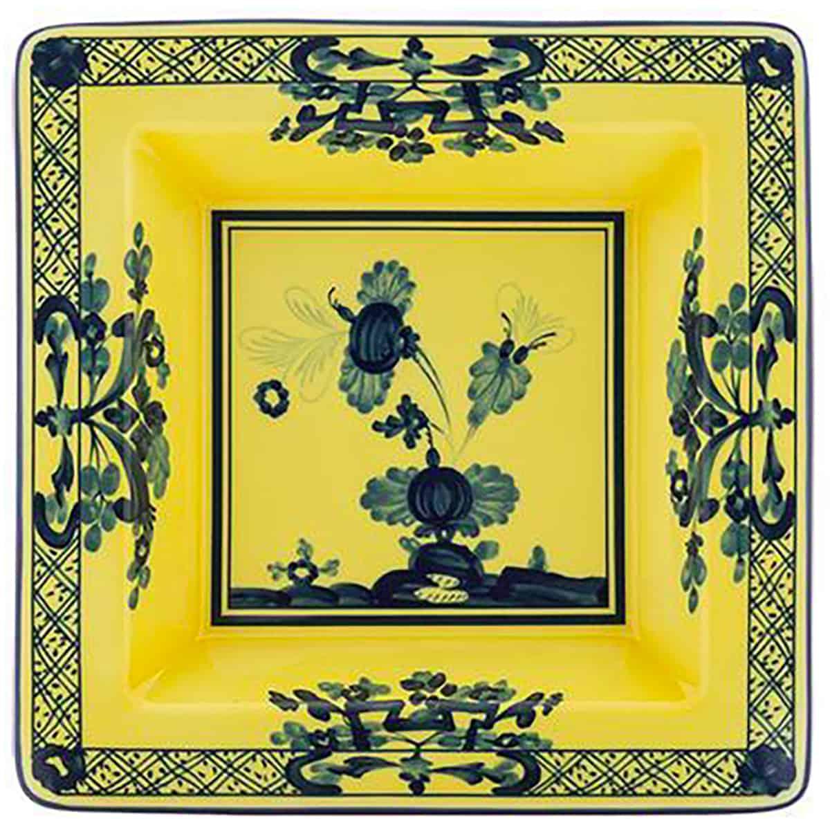 Oriente Italiano square Vide Poche by Ginori, $235. At ShopKSW.com