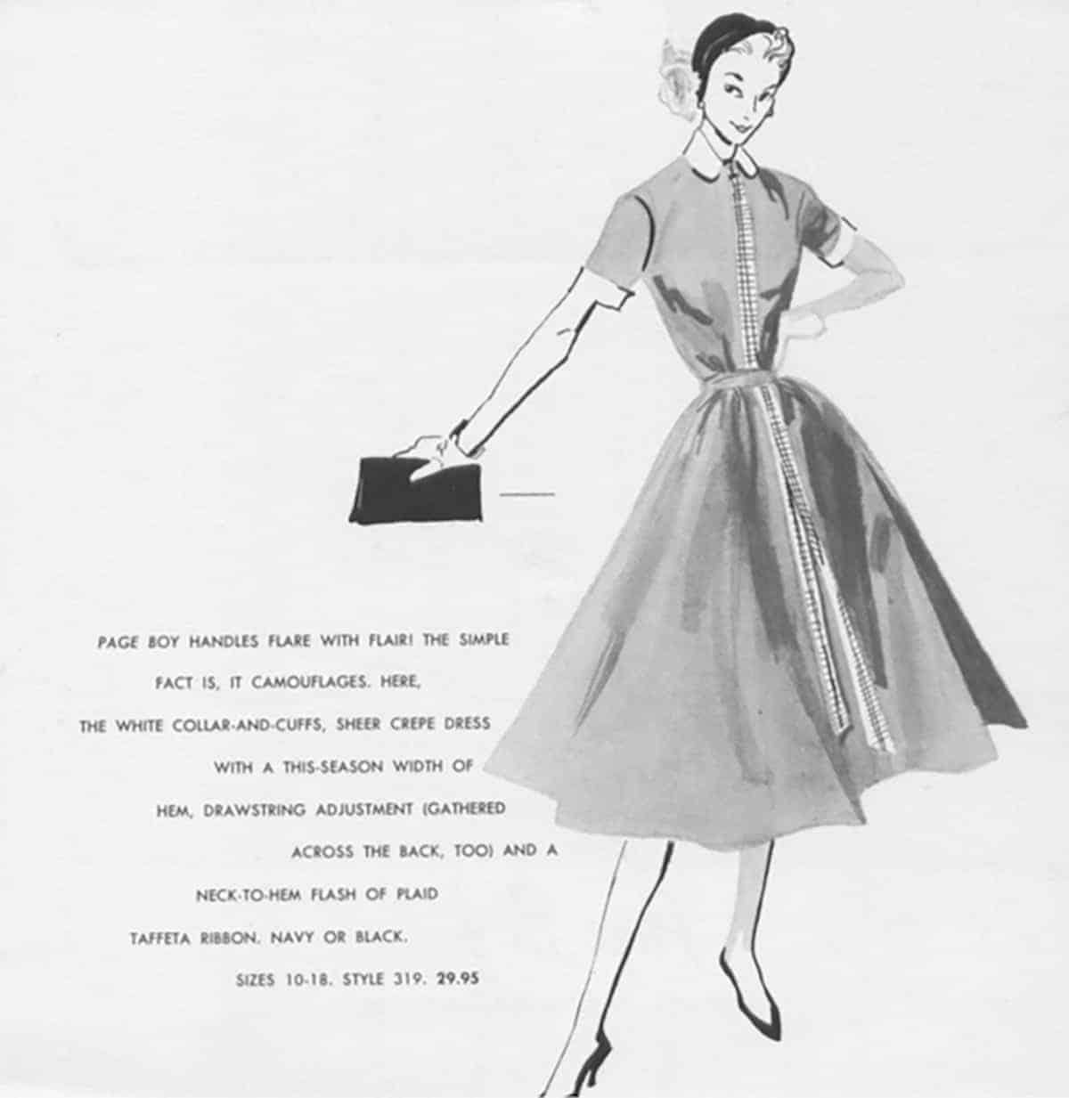 Page Boy ad, 1950s