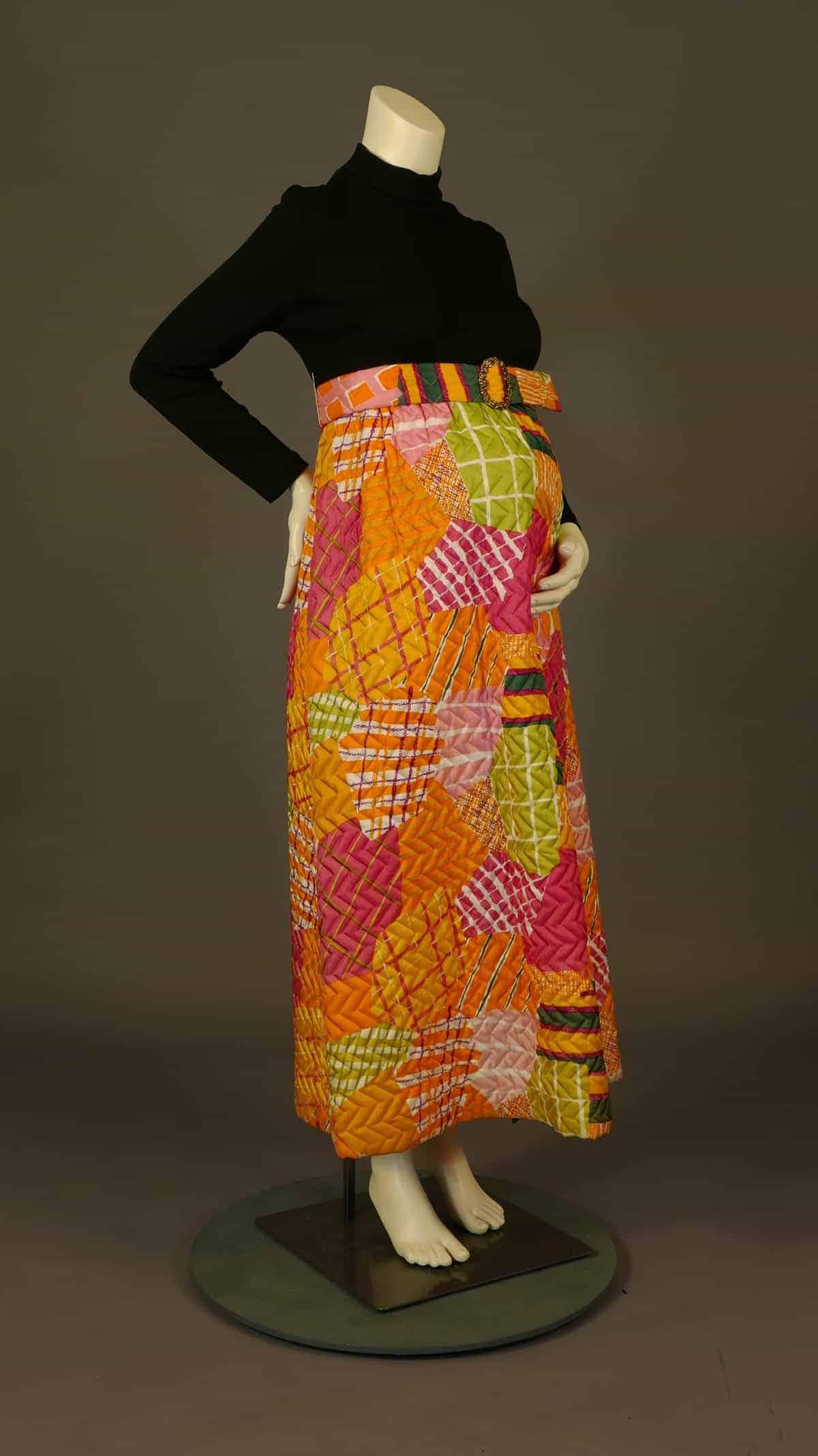 Page Boy maxi dress. 1967. Courtesy of UNT Digital