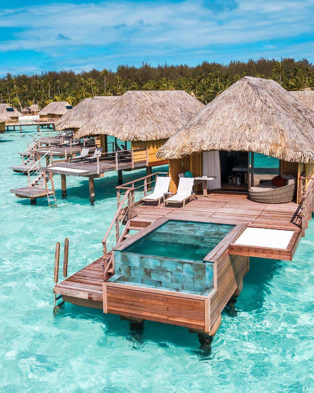 Bora Bora Pearl Resort over-water bungalow