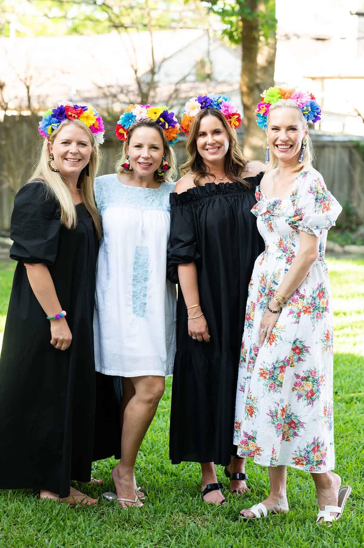 Cece Griffin, Ana Leah Montemayor, Amelita Mauze_ and Emilie Petty