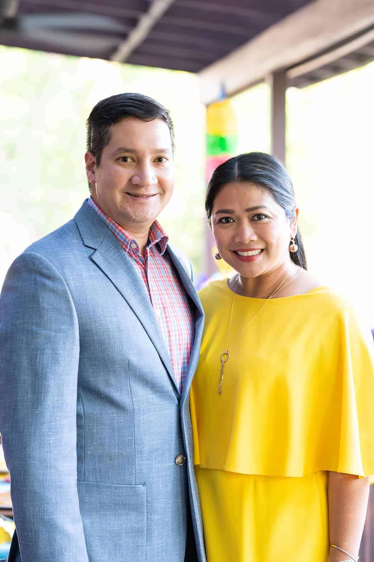 Ela and John Gancayco